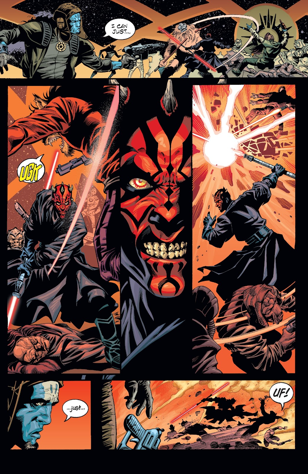 Read online Star Wars Legends: Rise of the Sith - Epic Collection comic -  Issue # TPB 2 (Part 2) - 78