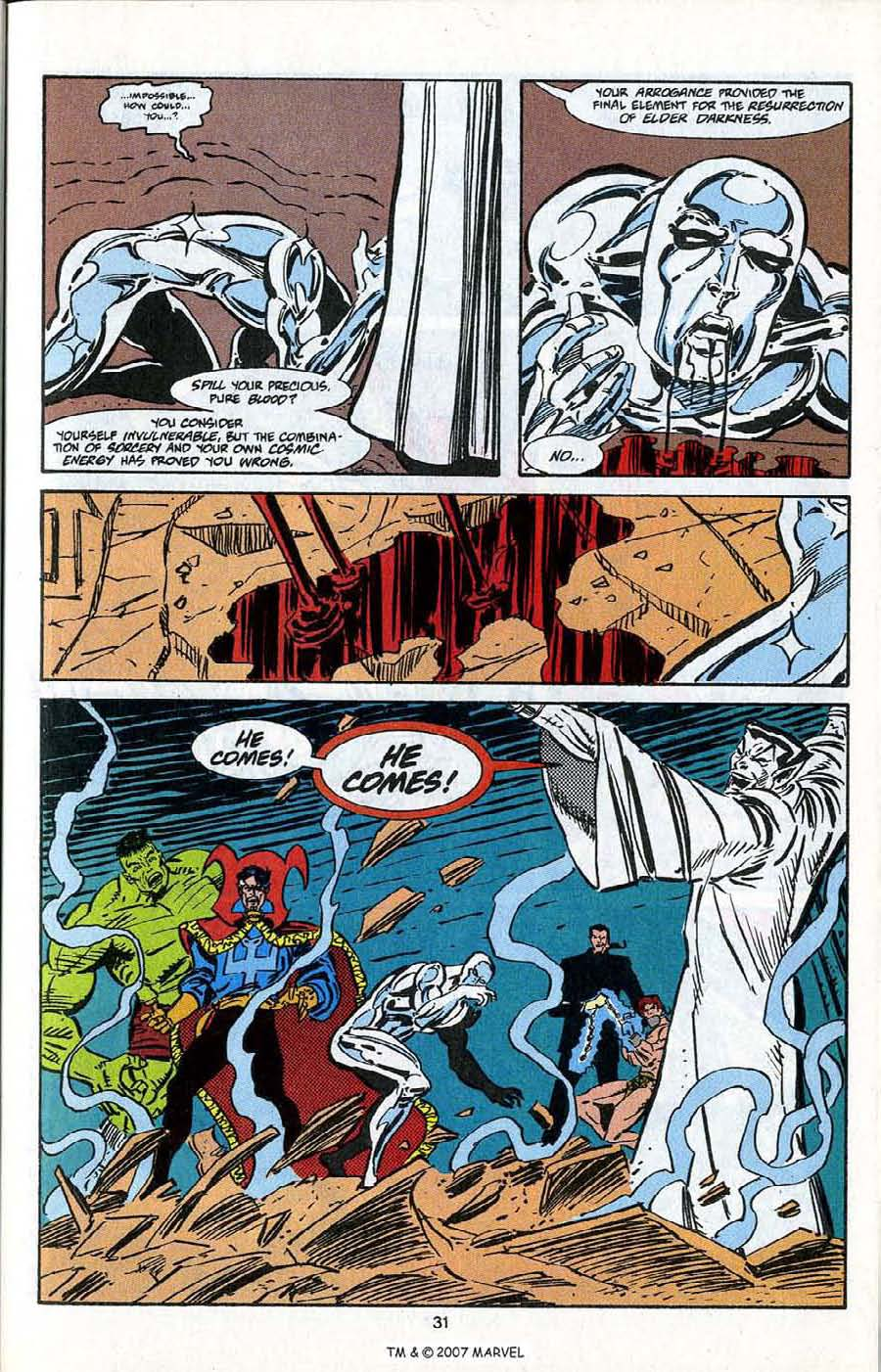 Read online Silver Surfer (1987) comic -  Issue # _Annual 5 - 33