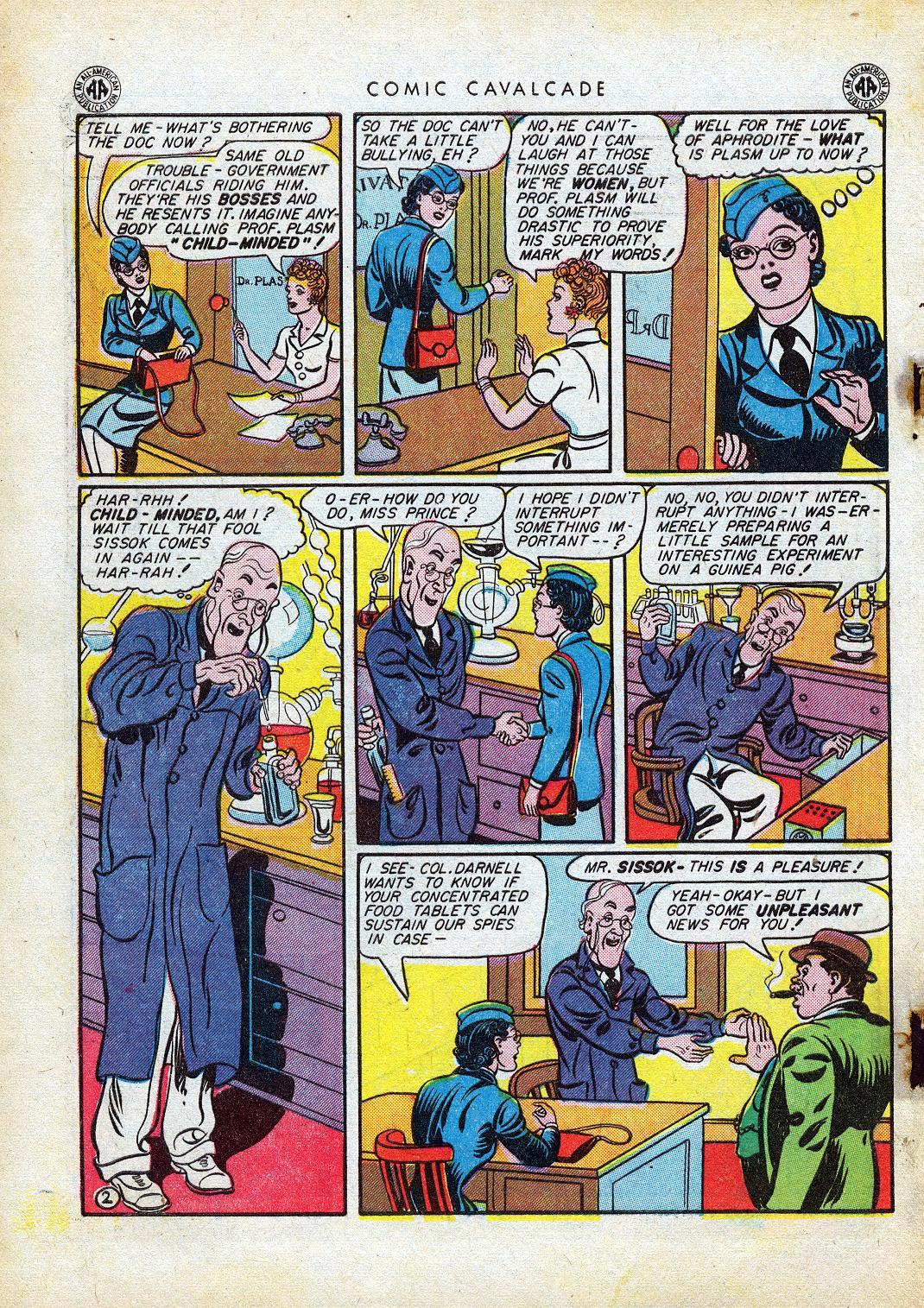 Comic Cavalcade issue 10 - Page 4