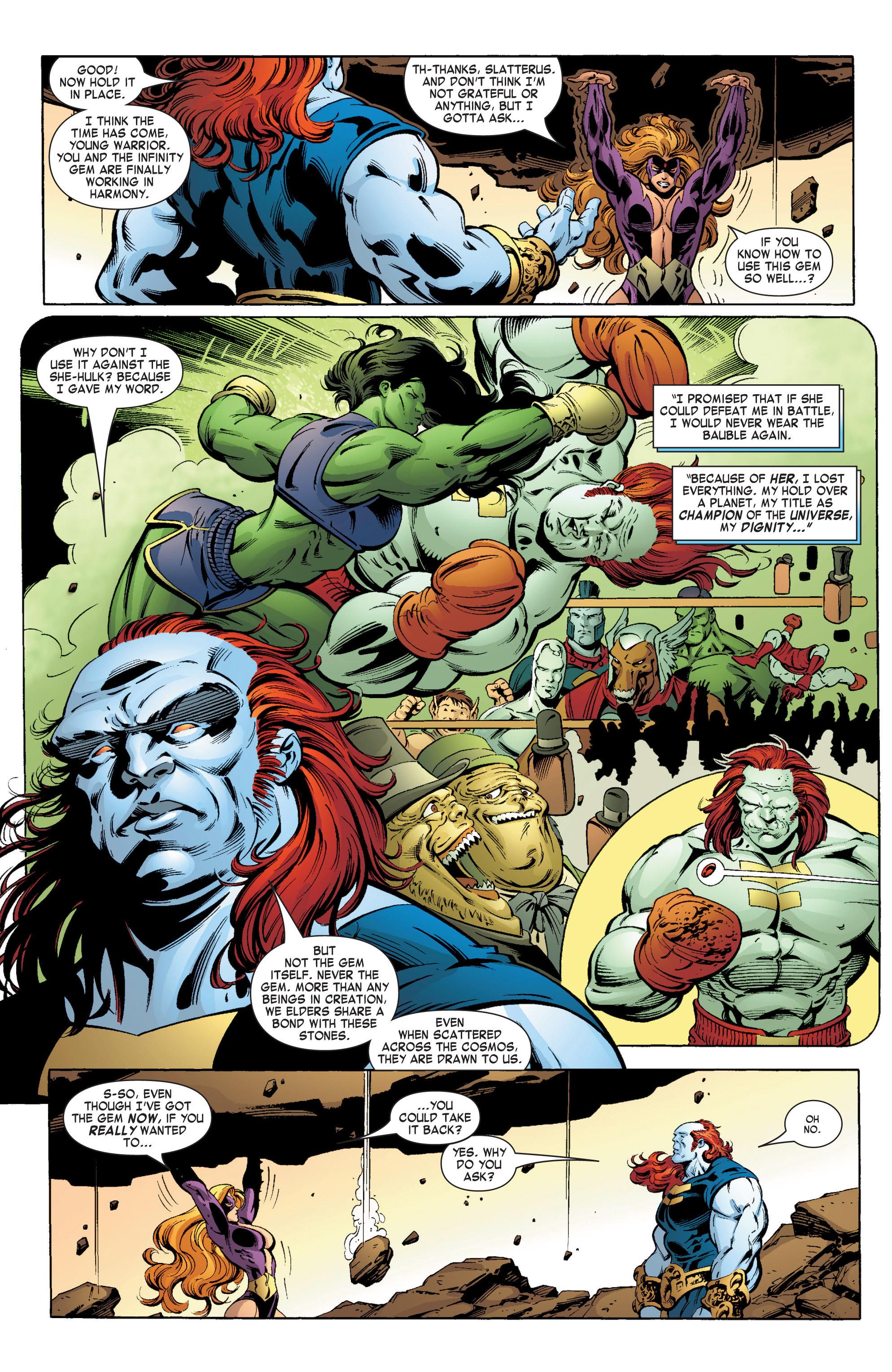 Read online She-Hulk (2004) comic -  Issue #11 - 3