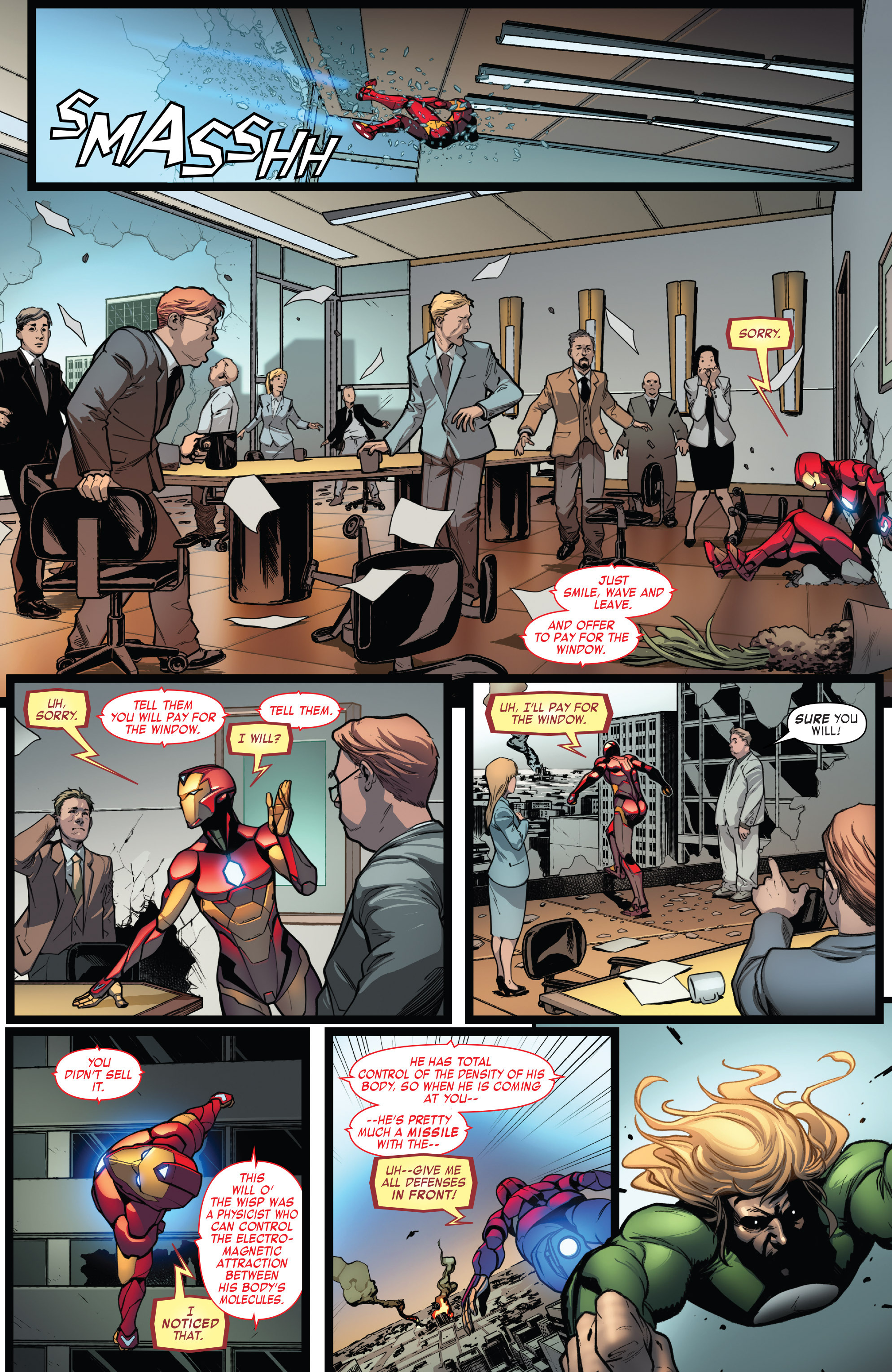Read online Invincible Iron Man (2016) comic -  Issue #7 - 9