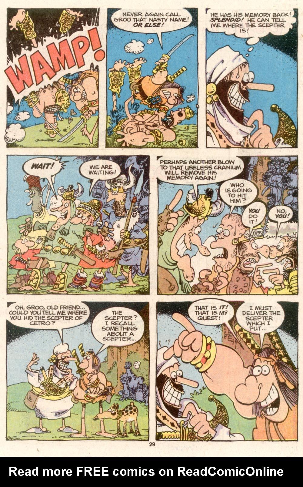 Read online Sergio Aragonés Groo the Wanderer comic -  Issue #73 - 23