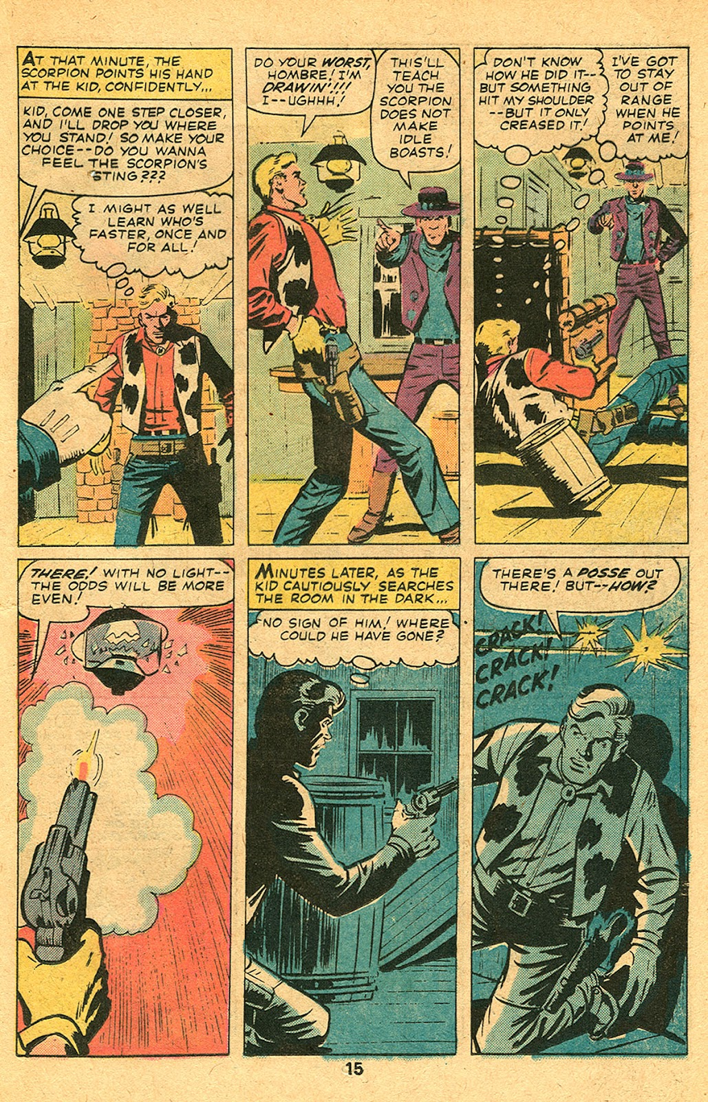 Kid Colt Outlaw issue 193 - Page 17