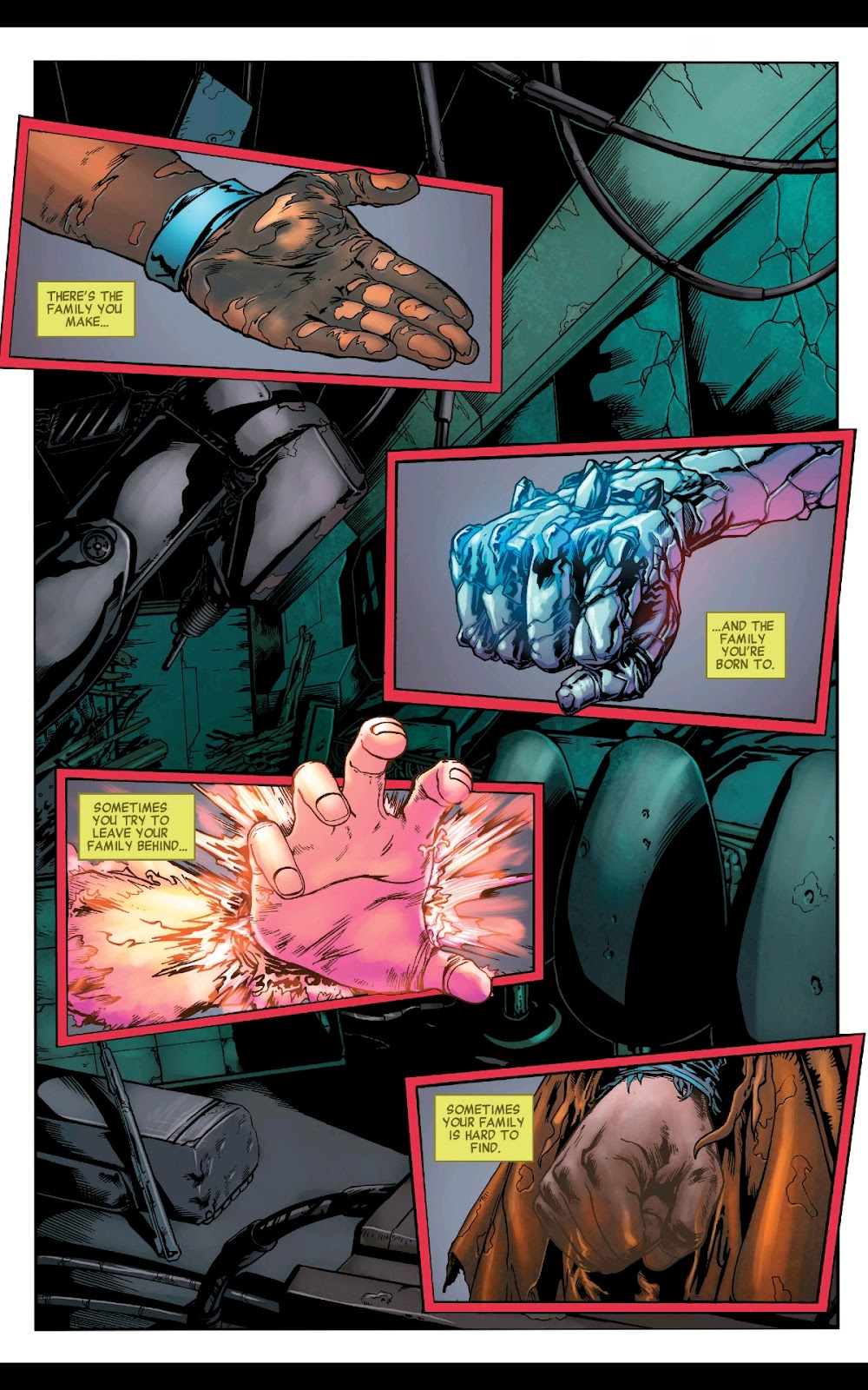 Read online Fantastic Four 2099 (2019) comic -  Issue # Full - 3