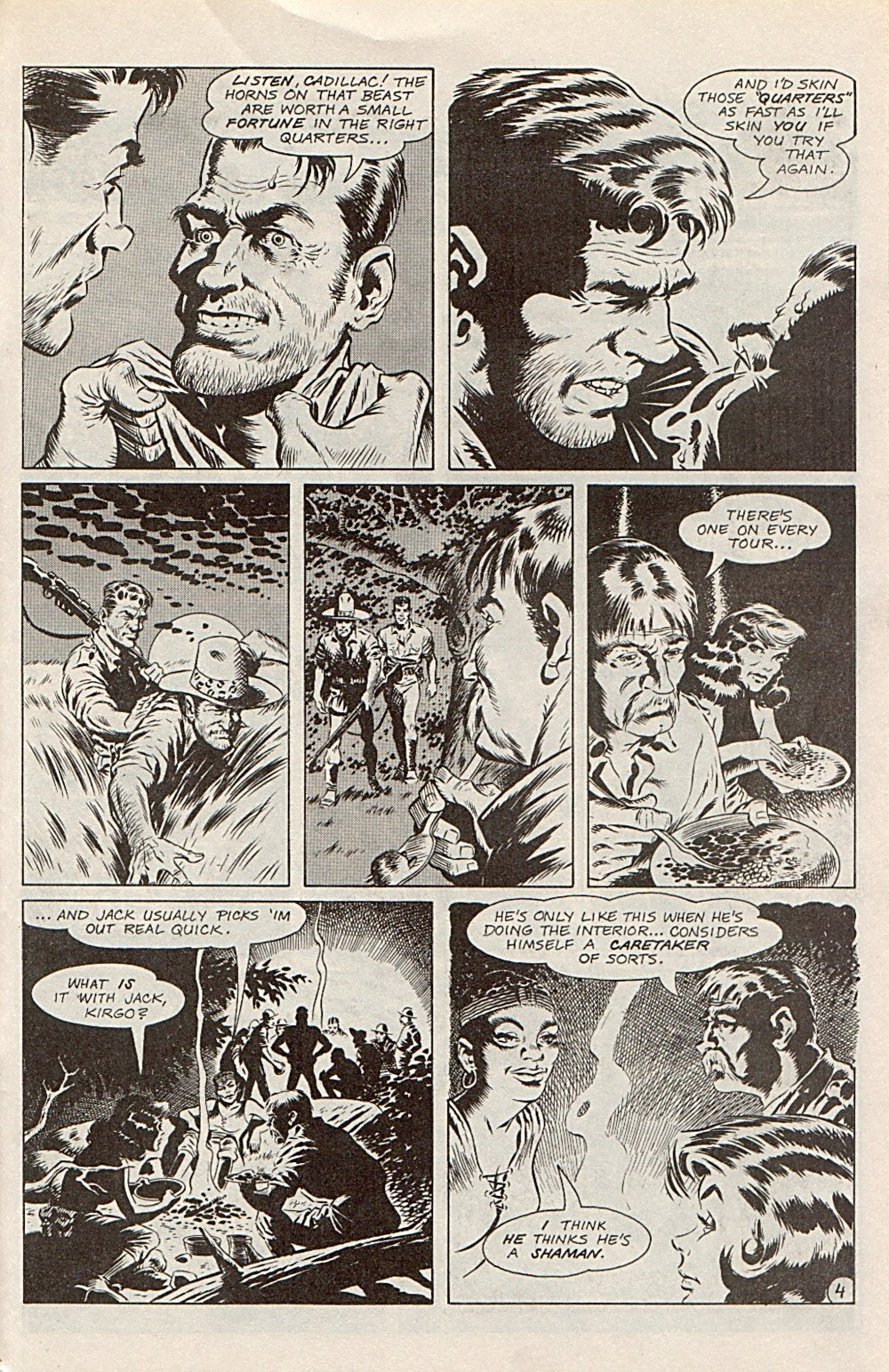 Read online Xenozoic Tales comic -  Issue #1 - 28
