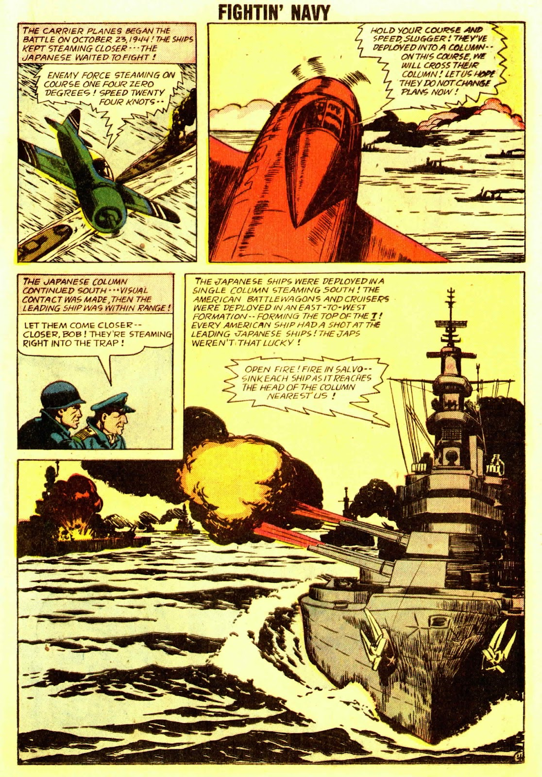 Read online Fightin' Navy comic -  Issue #83 - 23