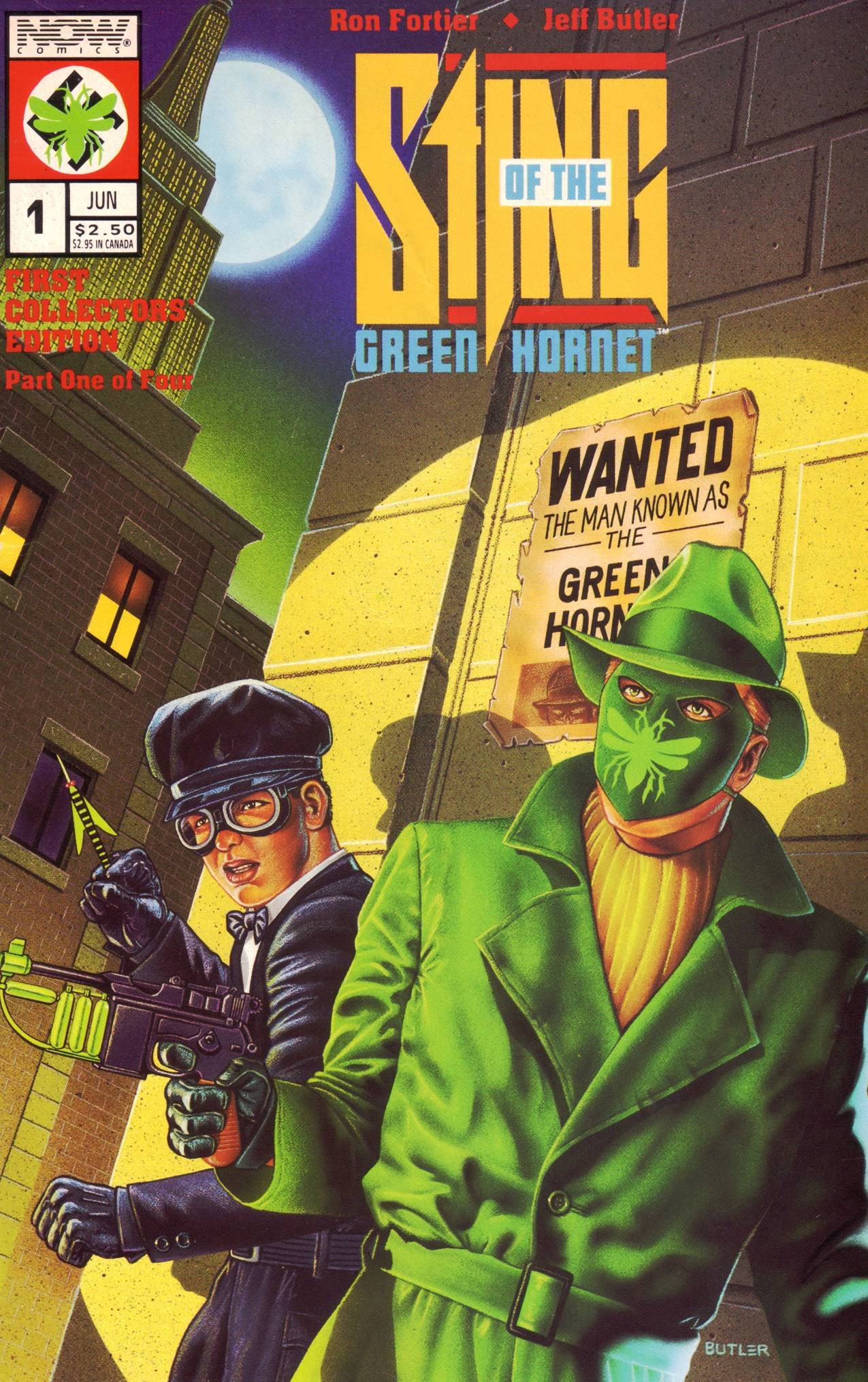 Read online Sting of The Green Hornet comic -  Issue #1 - 1