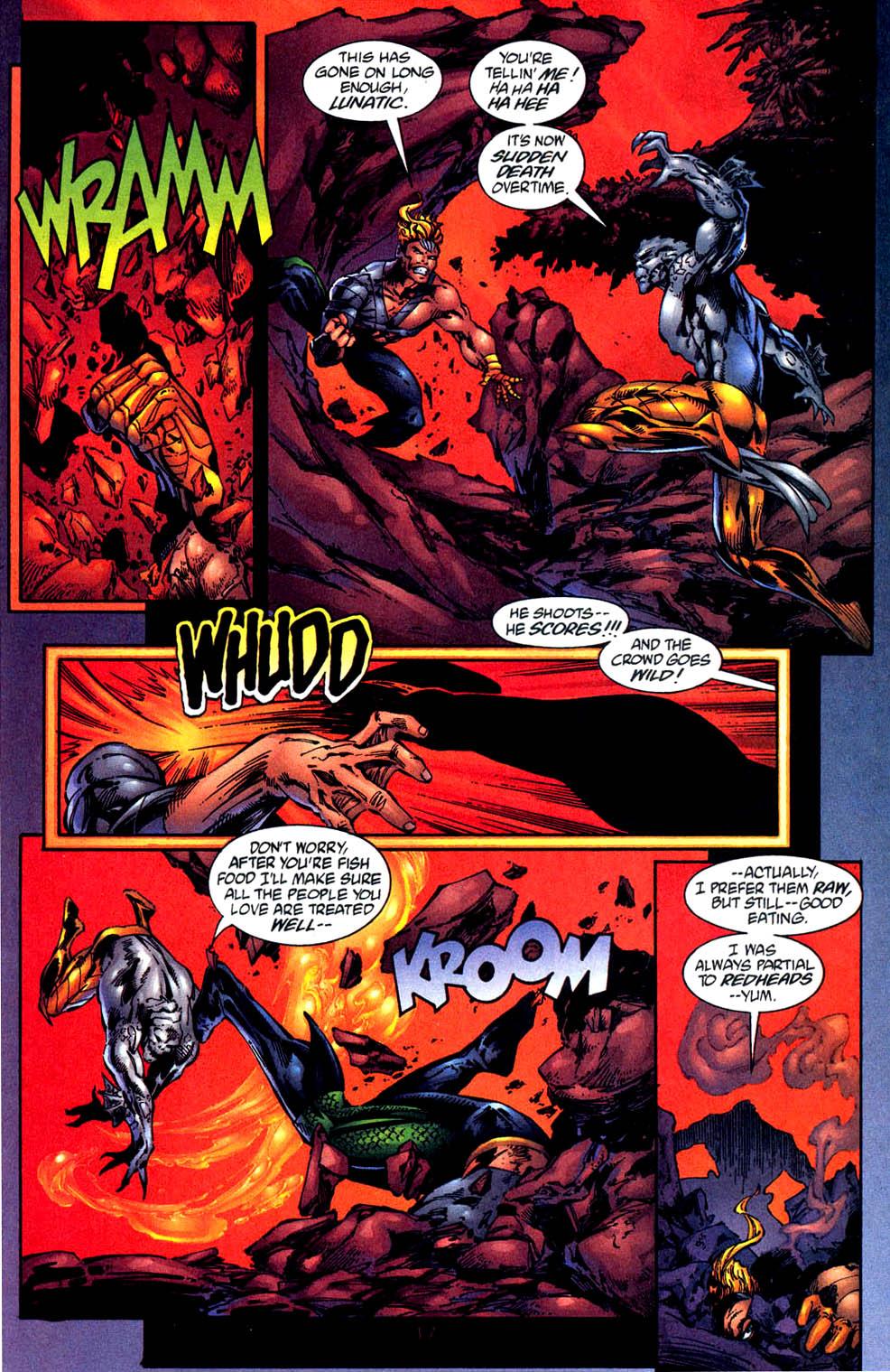 Read online Aquaman (1994) comic -  Issue #57 - 18