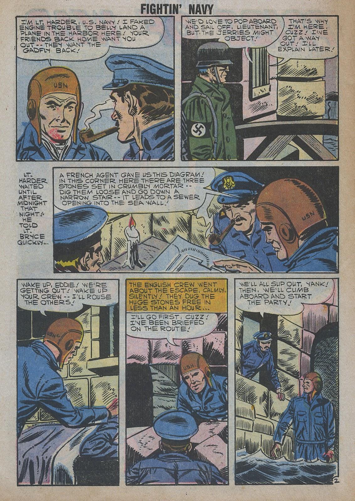Read online Fightin' Navy comic -  Issue #82 - 18