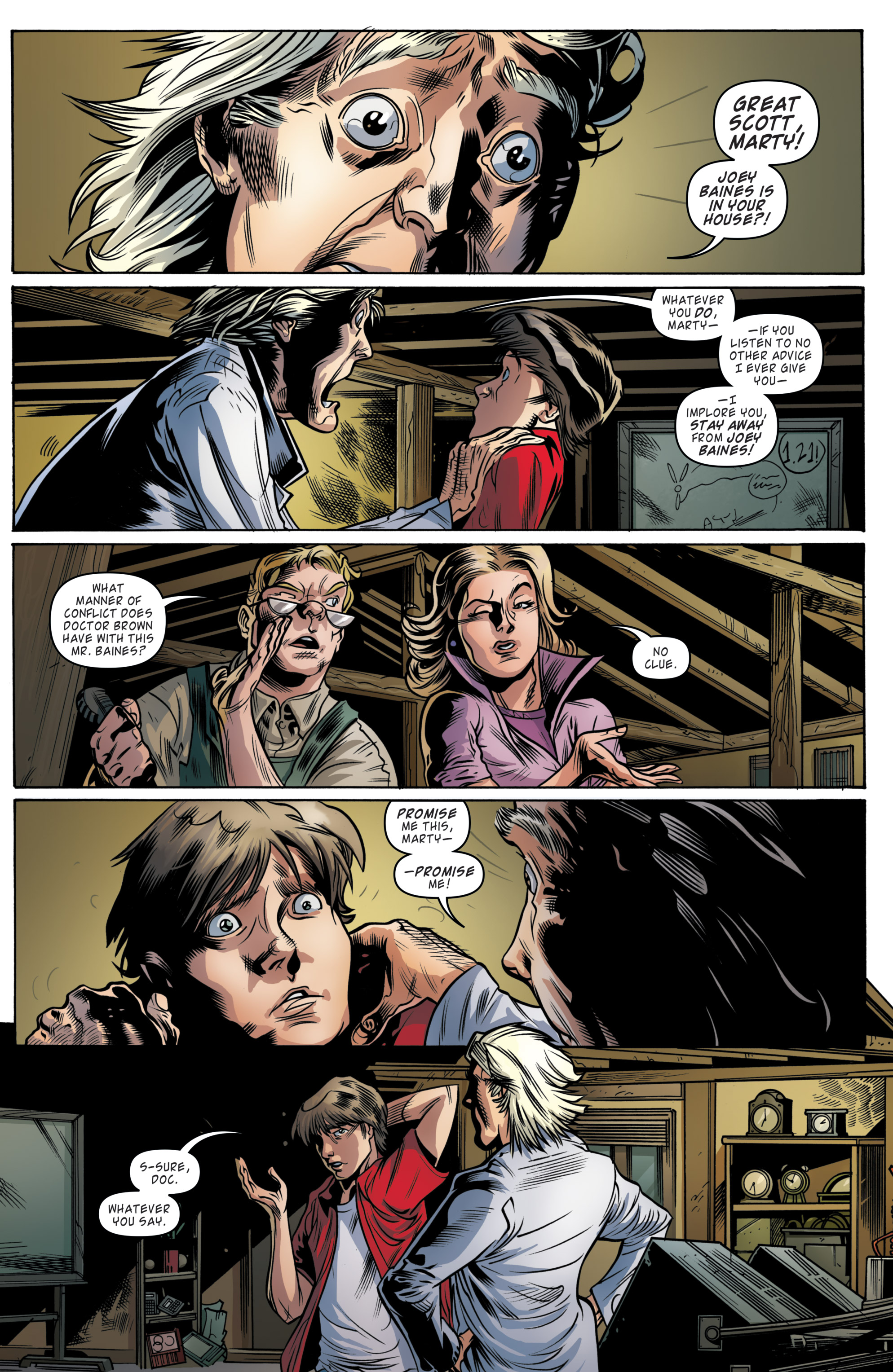 Read online Back to the Future (2015) comic -  Issue #19 - 18