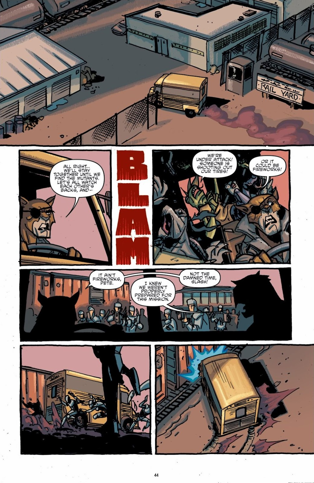 Read online Teenage Mutant Ninja Turtles: The IDW Collection comic -  Issue # TPB 6 (Part 1) - 43