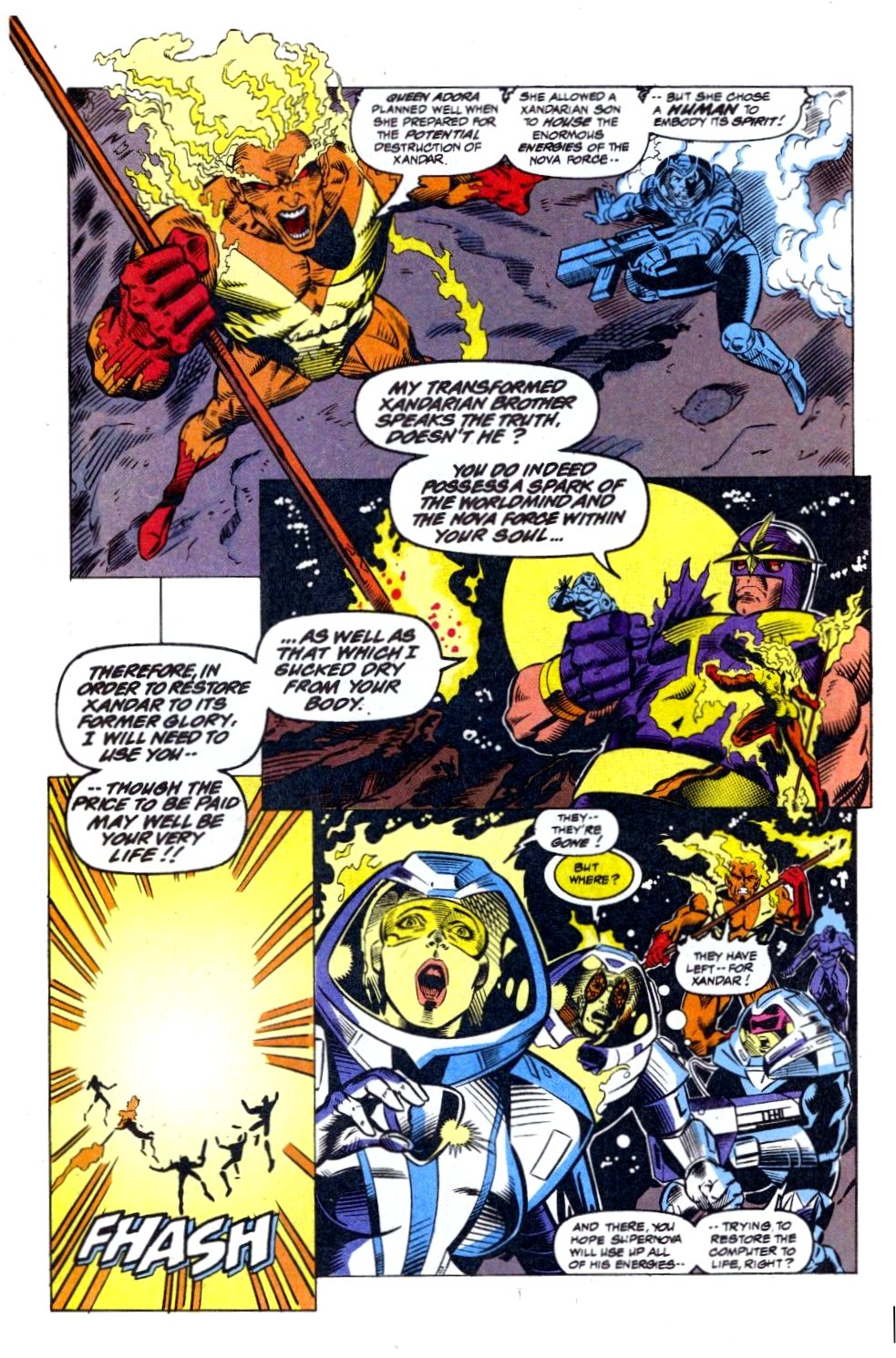 The New Warriors Issue #41 #45 - English 22
