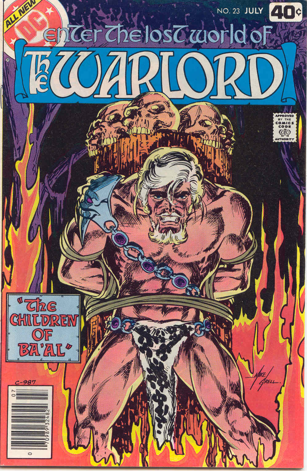 Warlord (1976) issue 23 - Page 1