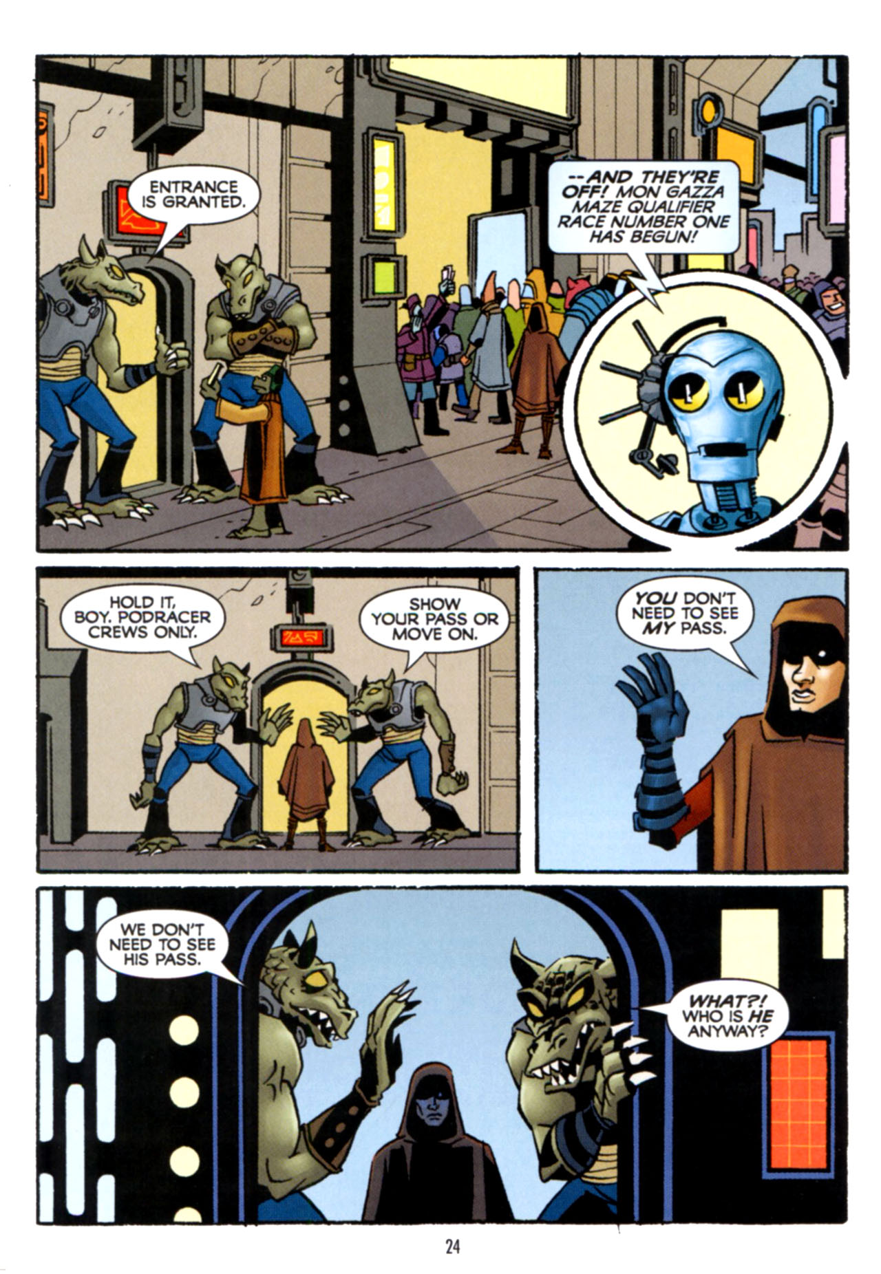 Read online Star Wars: The Clone Wars - Crash Course comic -  Issue # Full - 25