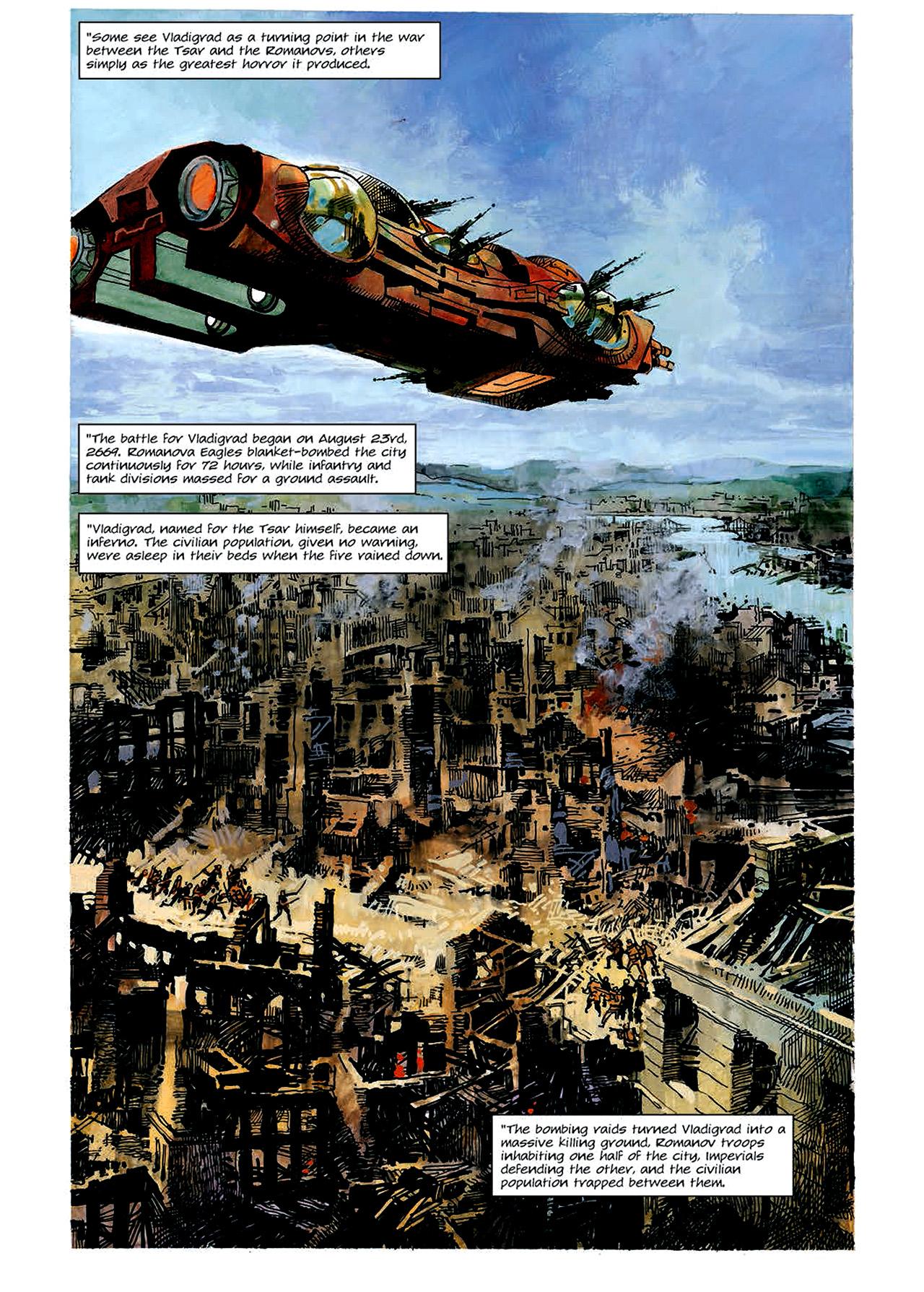 Read online Nikolai Dante comic -  Issue # TPB 4 - 55