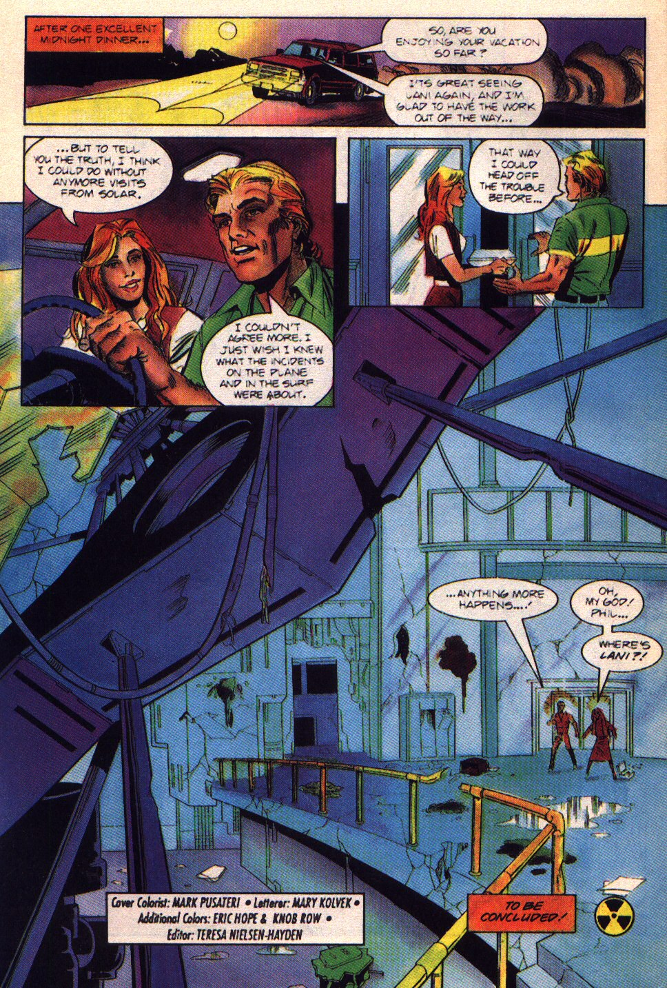 Read online Solar, Man of the Atom comic -  Issue #42 - 22