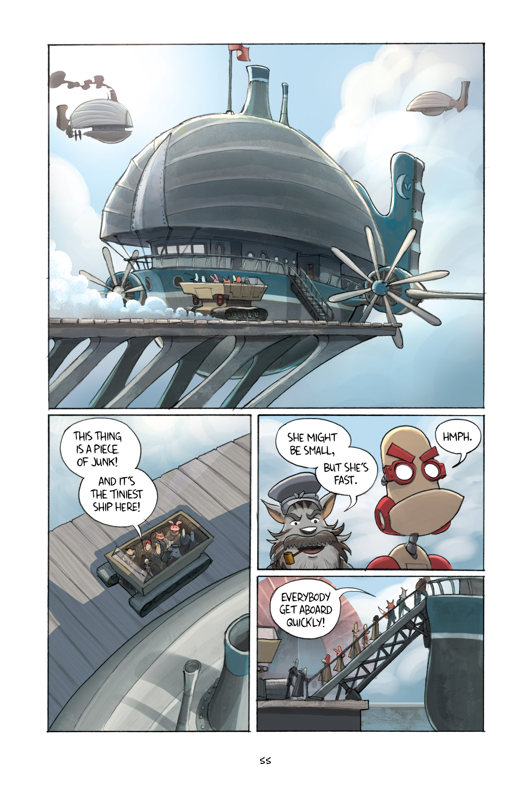 Read online Amulet comic -  Issue #3 - 54