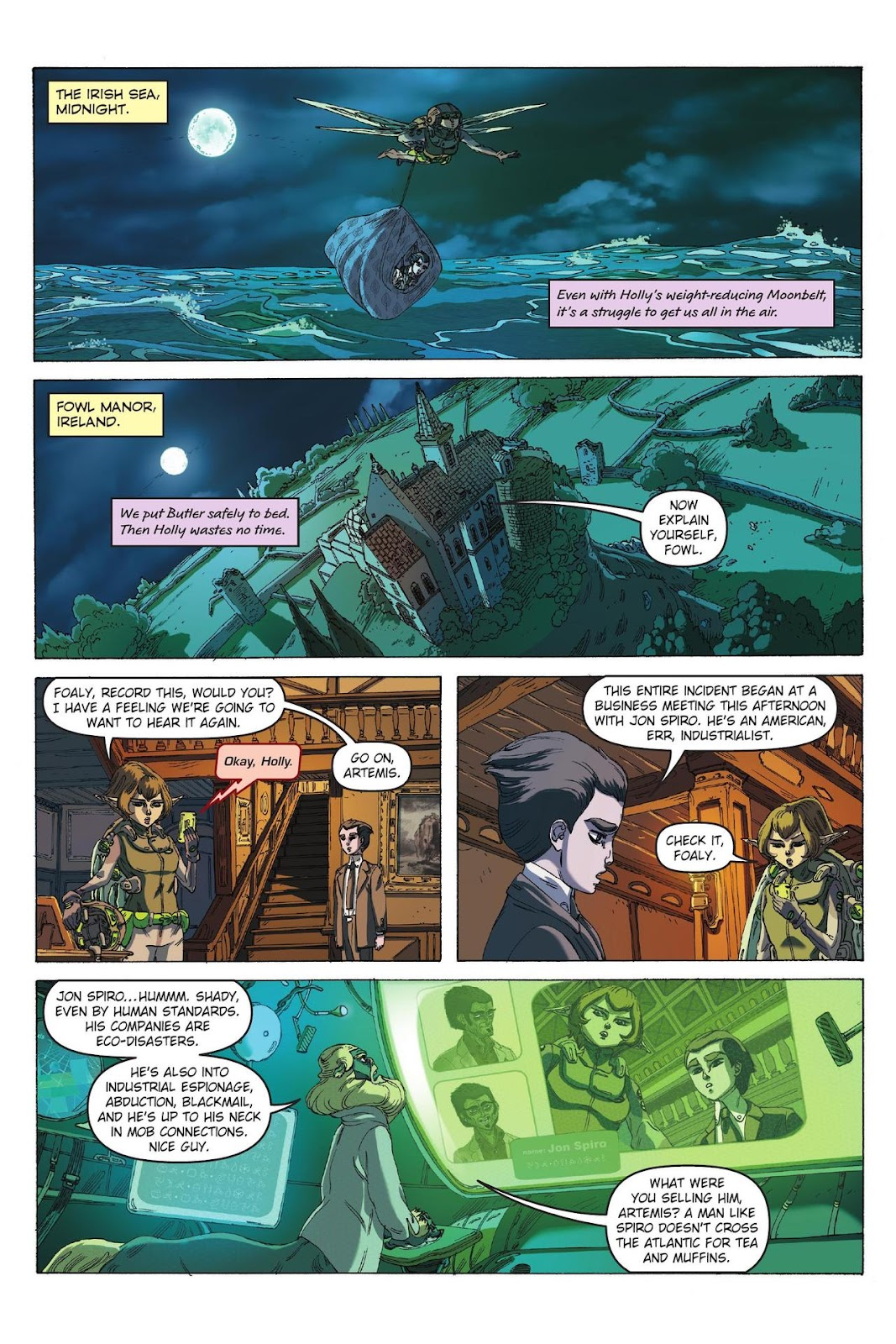 Artemis Fowl: The Eternity Code issue TPB - Page 43