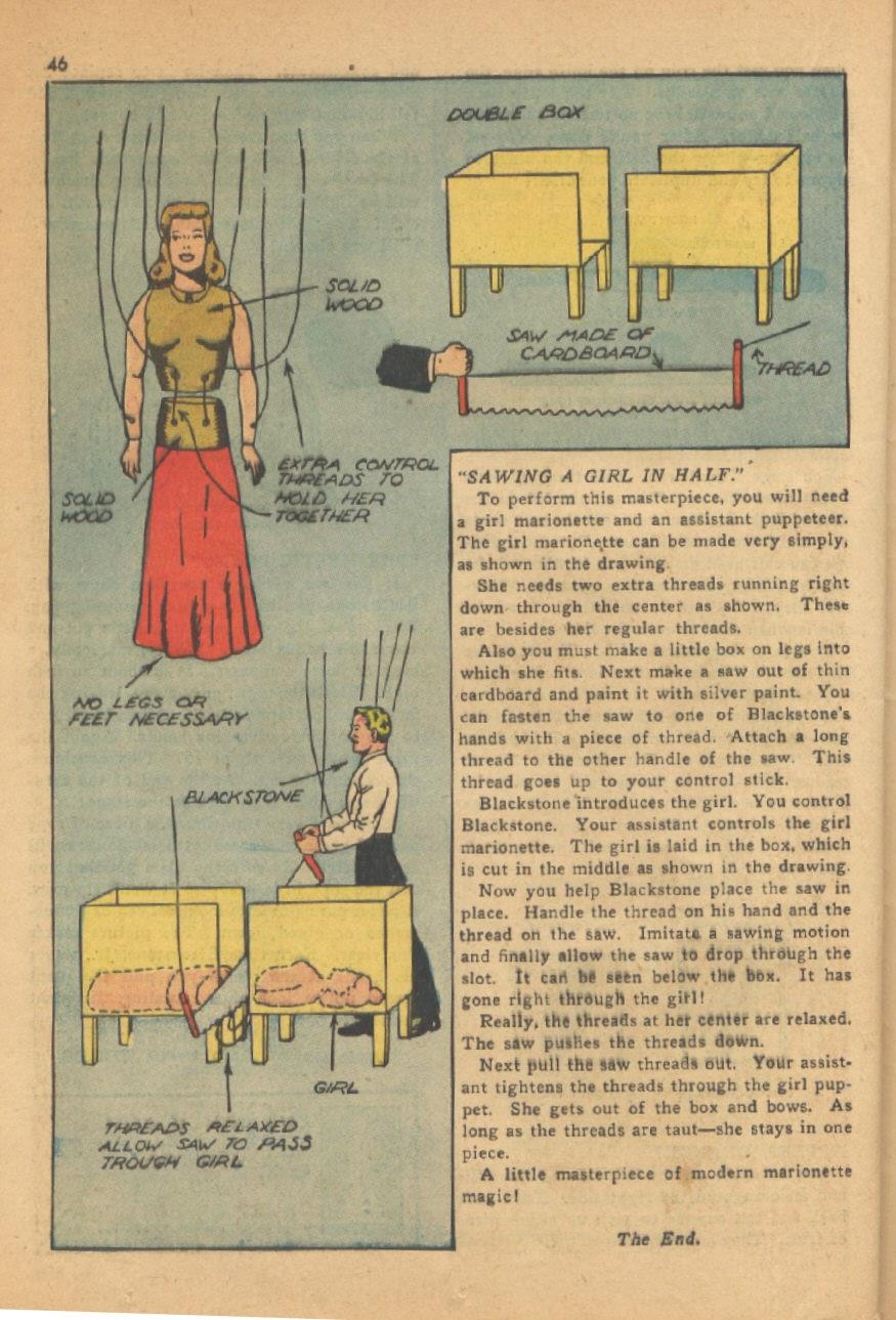 Read online Super-Magician Comics comic -  Issue #13 - 46