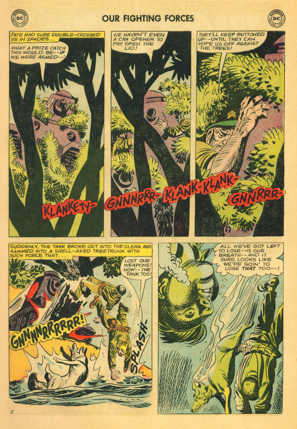 Our Fighting Forces (1954) issue 80 - Page 7
