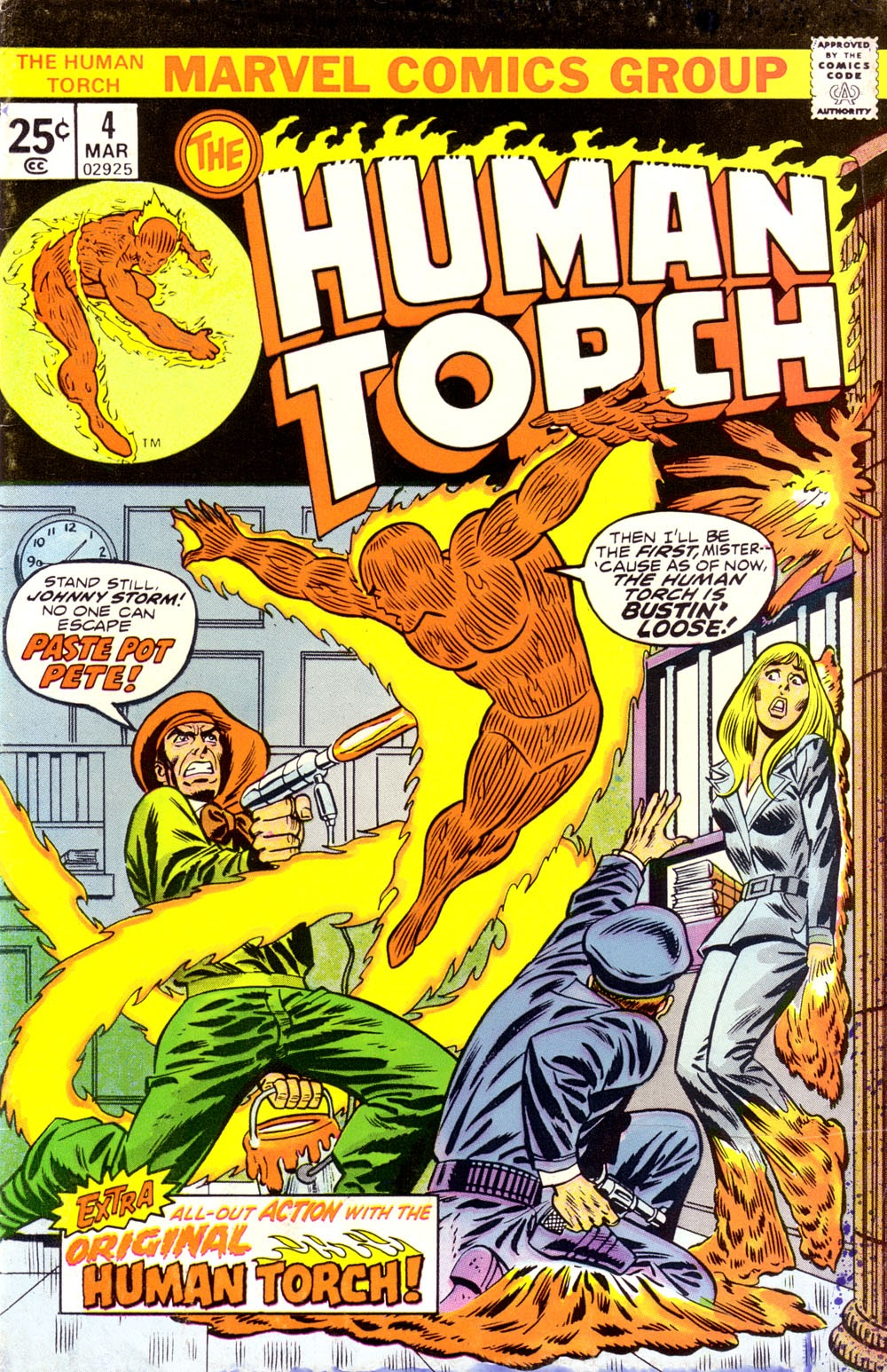 The Human Torch (1974) 4 Page 1
