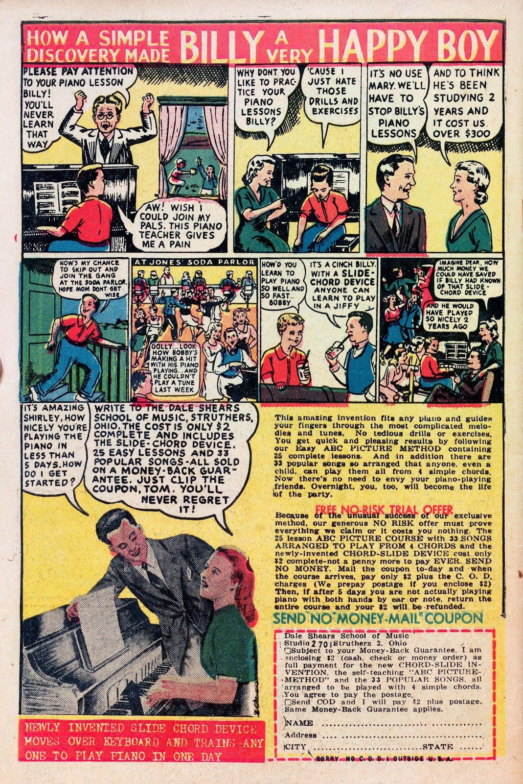 Read online Comedy Comics (1948) comic -  Issue #1 - 34