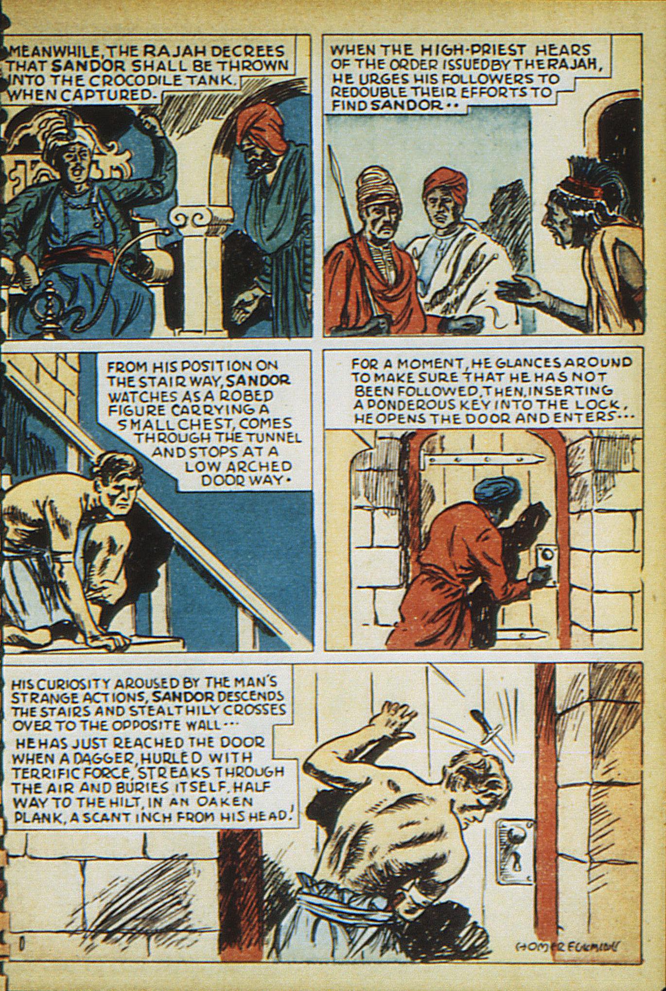 Read online Adventure Comics (1938) comic -  Issue #15 - 57