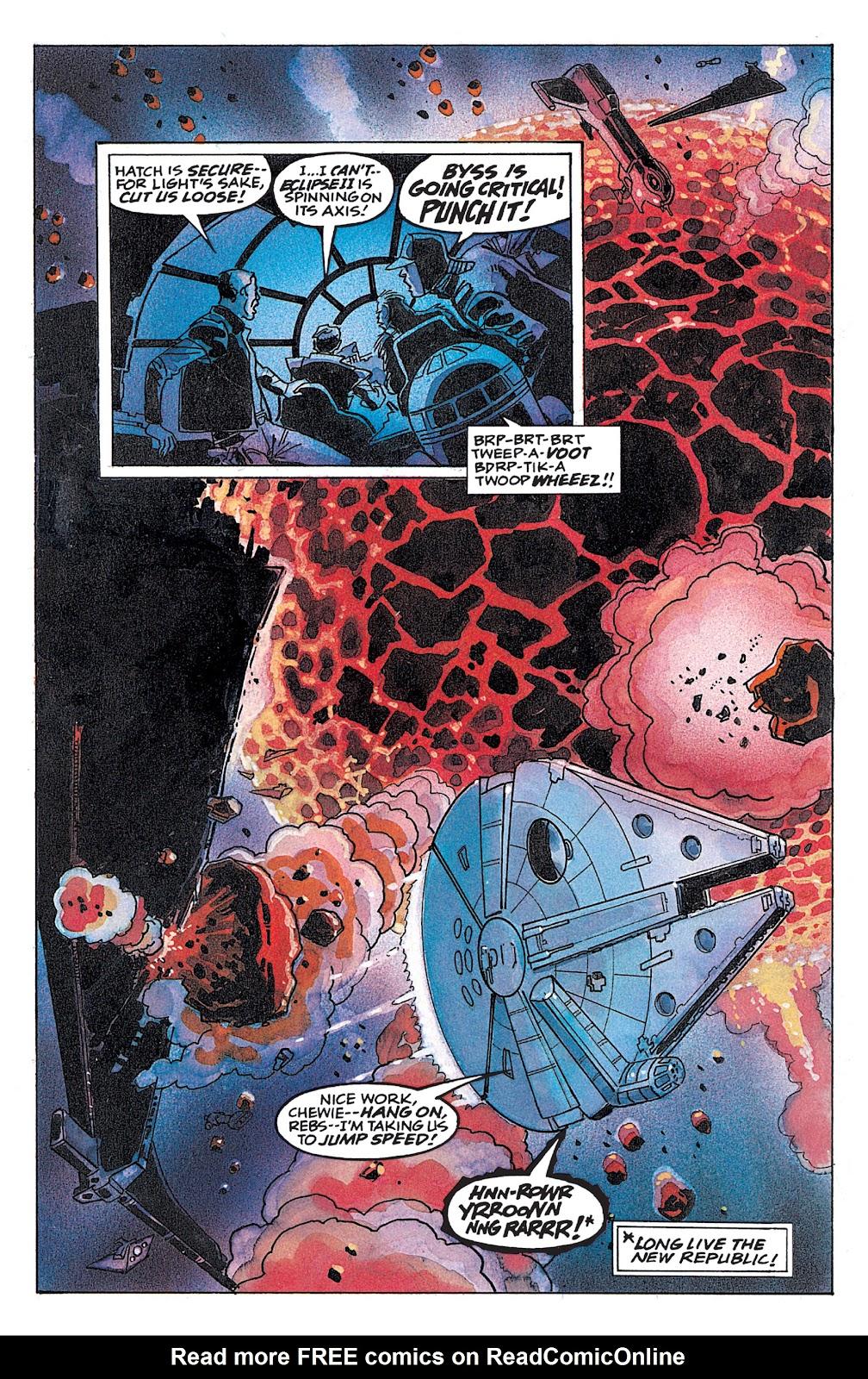 Read online Star Wars: Dark Empire Trilogy comic -  Issue # TPB (Part 4) - 57