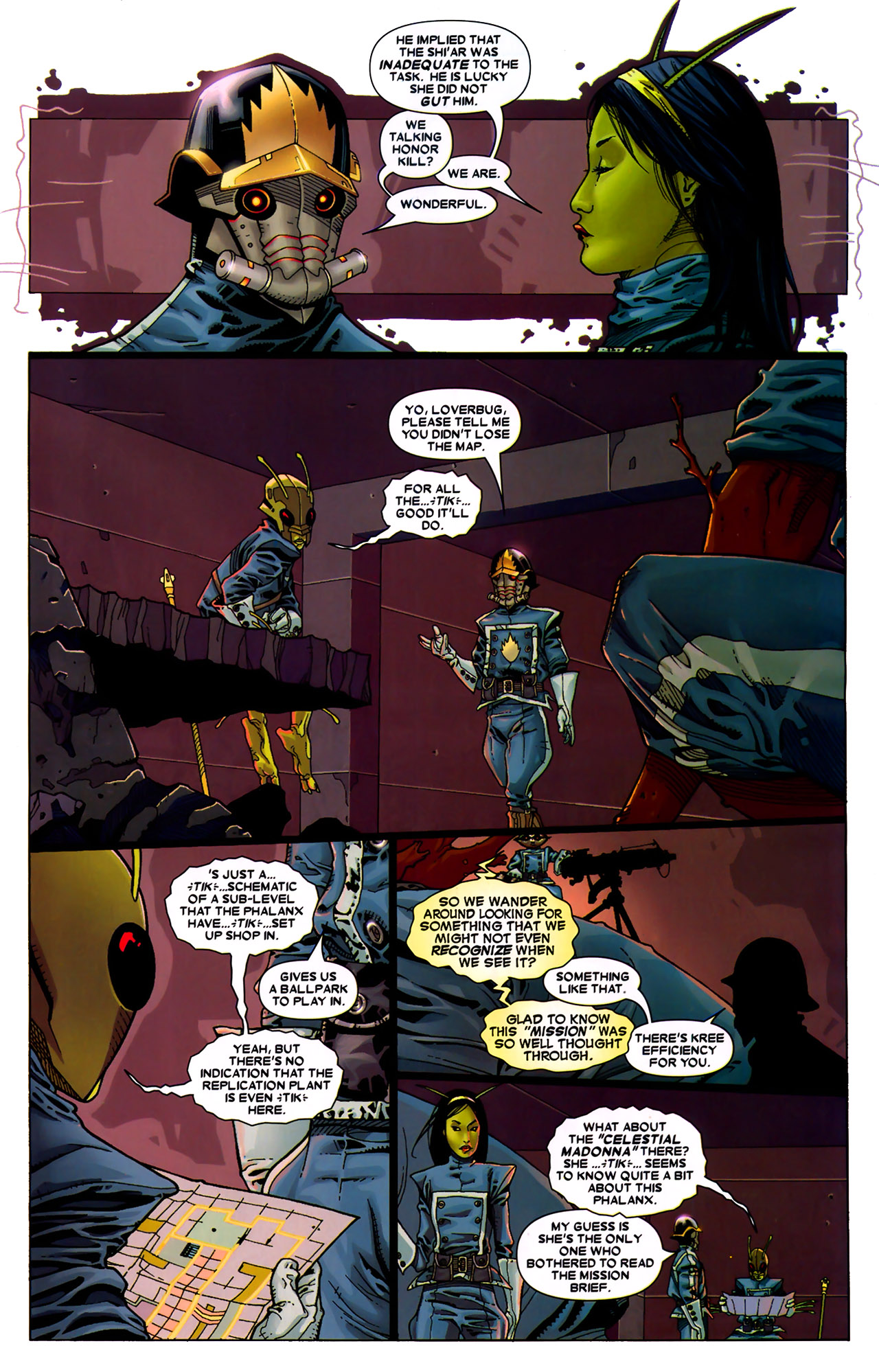 Read online Annihilation: Conquest - Starlord comic -  Issue #2 - 8
