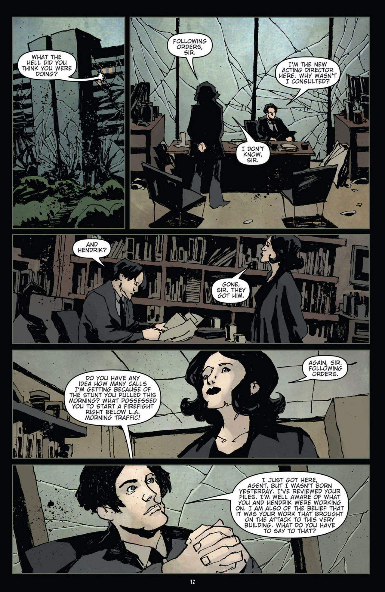 Read online 30 Days of Night (2011) comic -  Issue #11 - 14