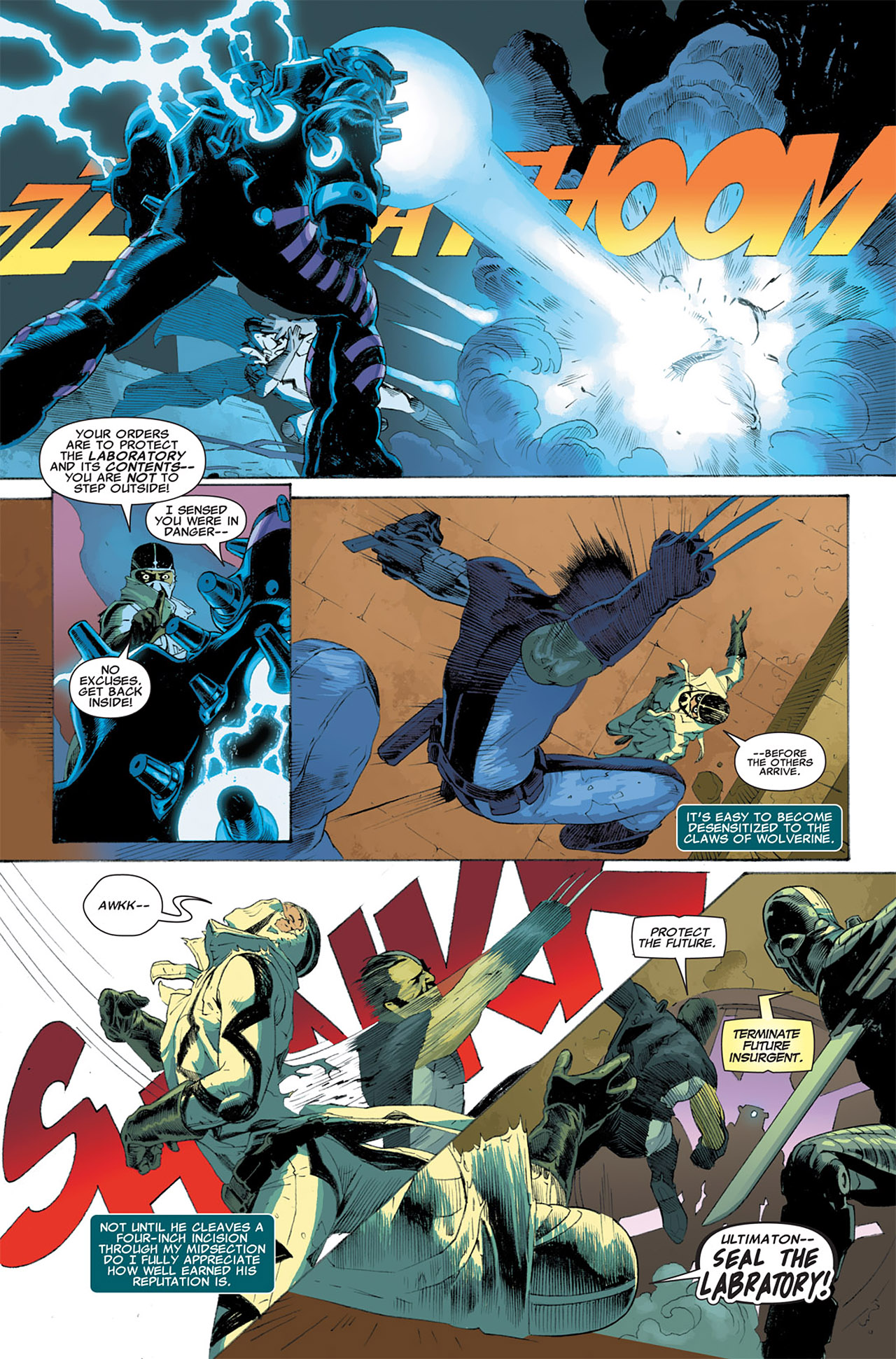 Read online Uncanny X-Force (2010) comic -  Issue #7 - 16