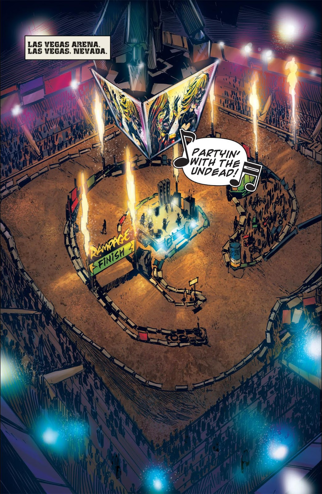 Read online Dead Rising: Road to Fortune comic -  Issue #3 - 5
