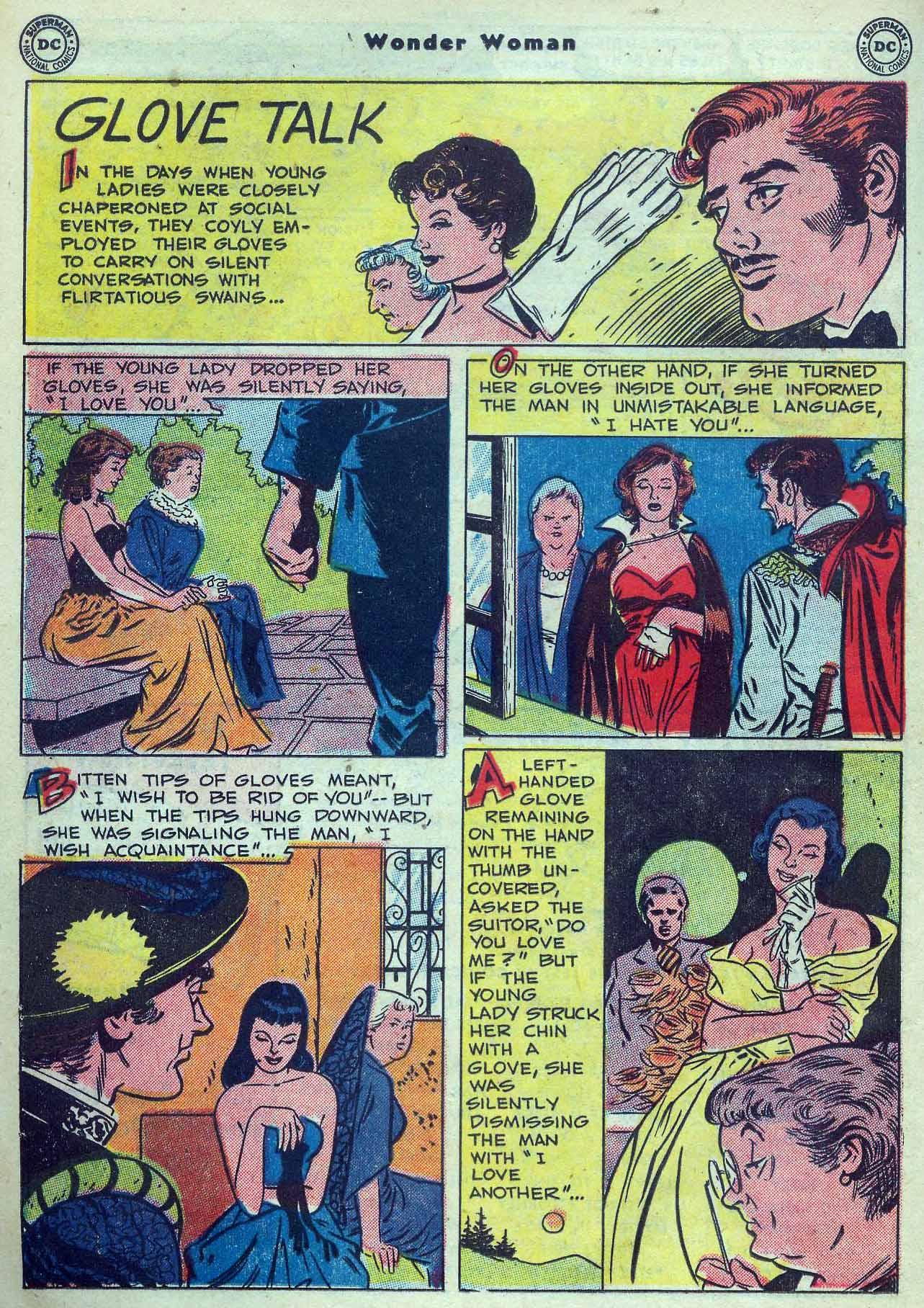 Read online Wonder Woman (1942) comic -  Issue #53 - 28