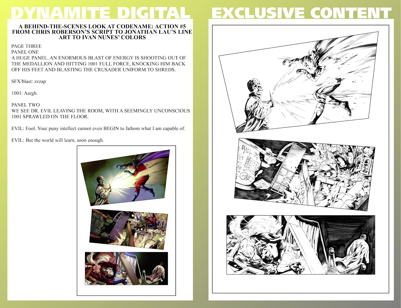 Read online Codename: Action comic -  Issue #5 - 30