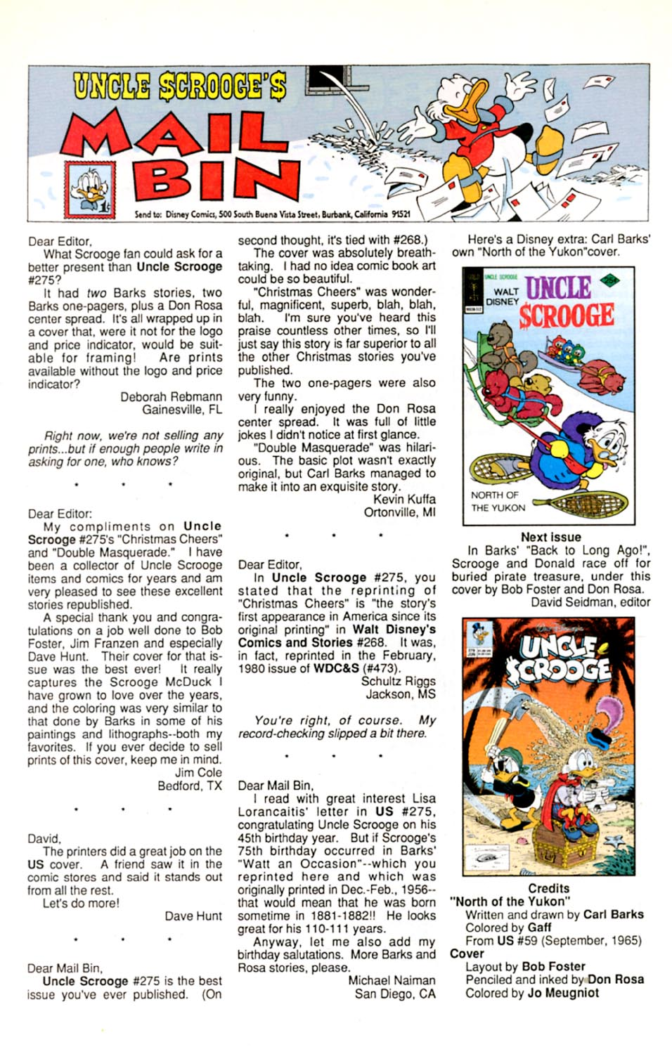 Read online Uncle Scrooge (1953) comic -  Issue #278 - 27