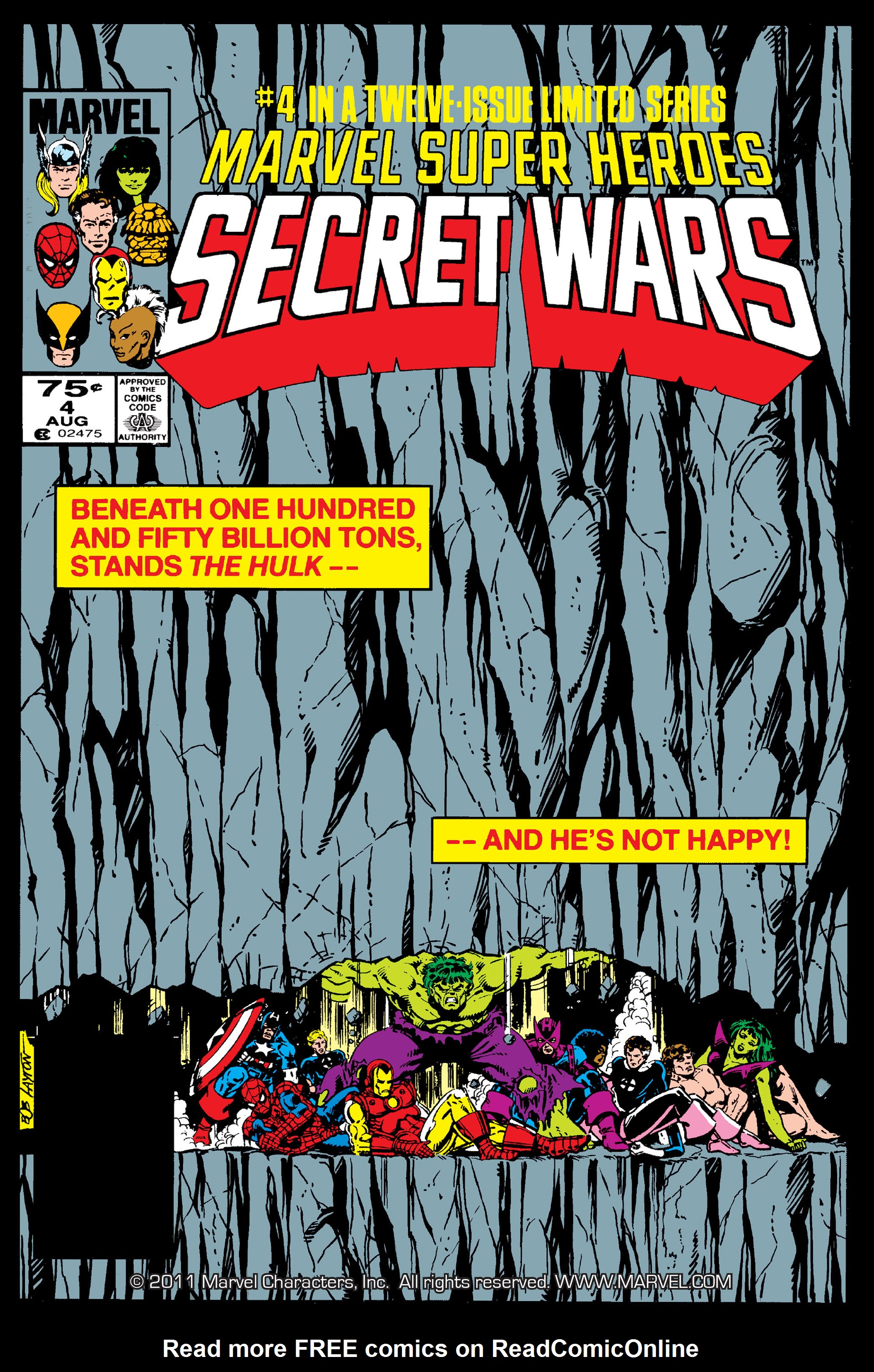 Read online Secret Wars (1985) comic -  Issue #4 - 1