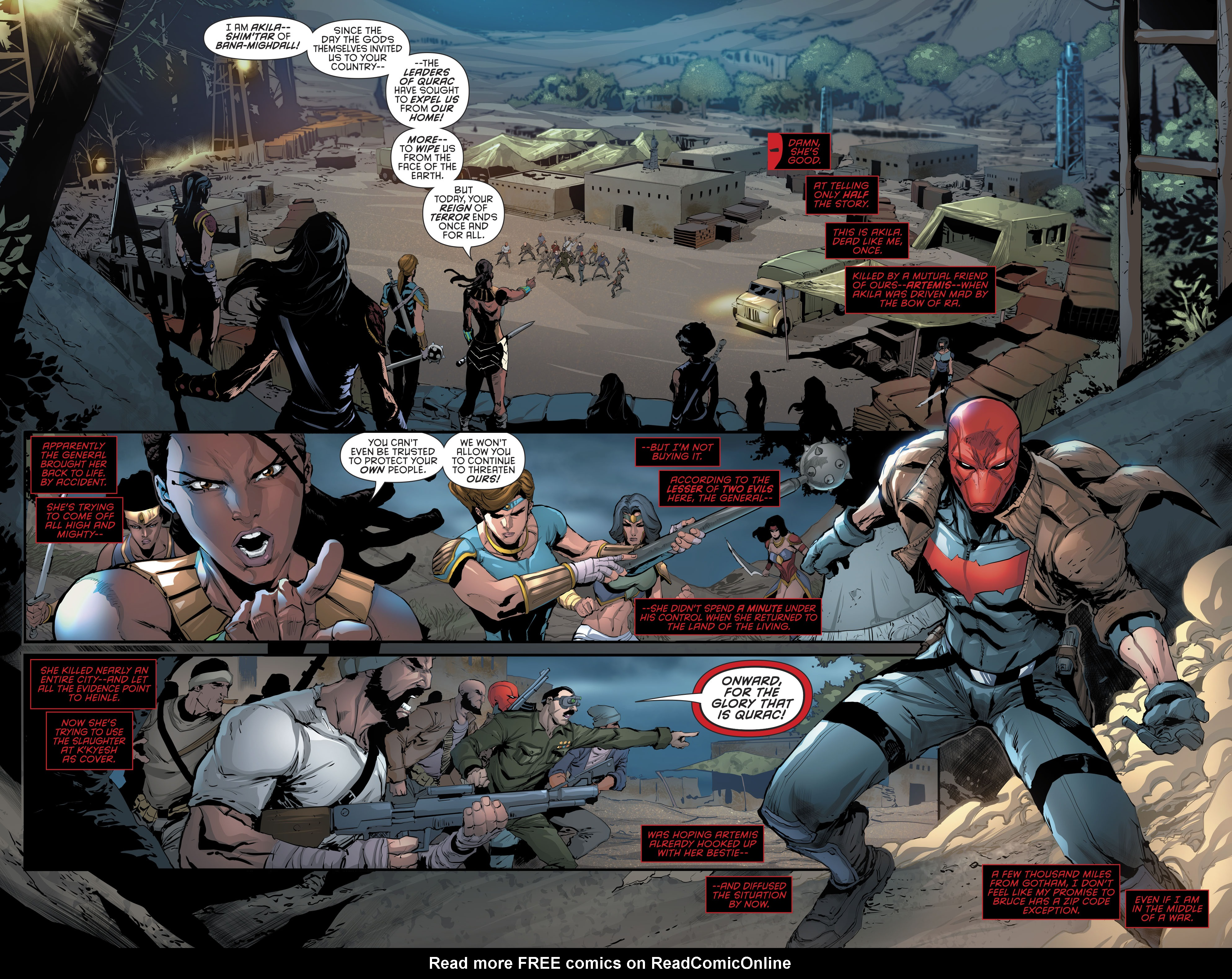 Read online Red Hood and the Outlaws (2016) comic -  Issue #11 - 5