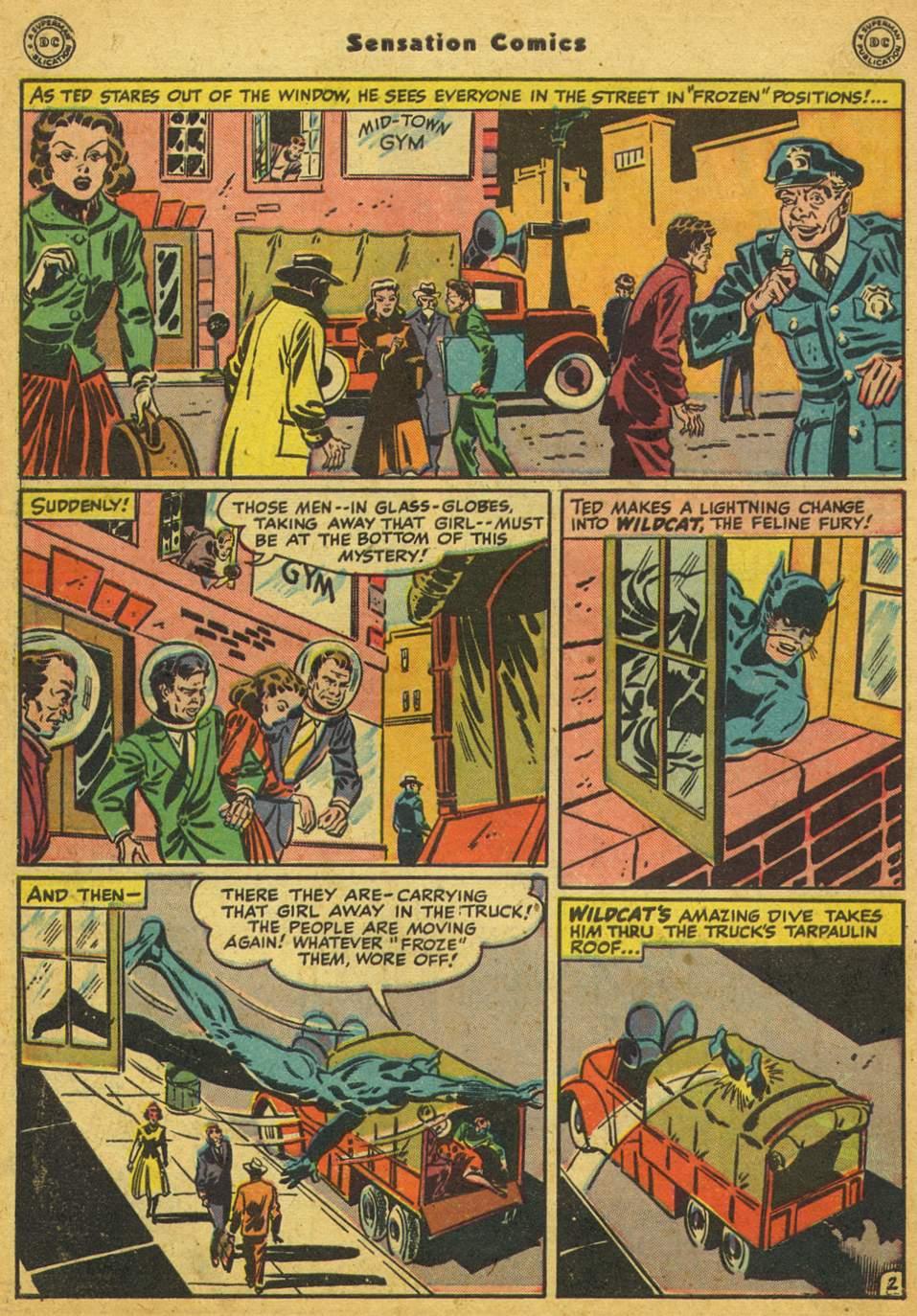 Read online Sensation (Mystery) Comics comic -  Issue #80 - 43