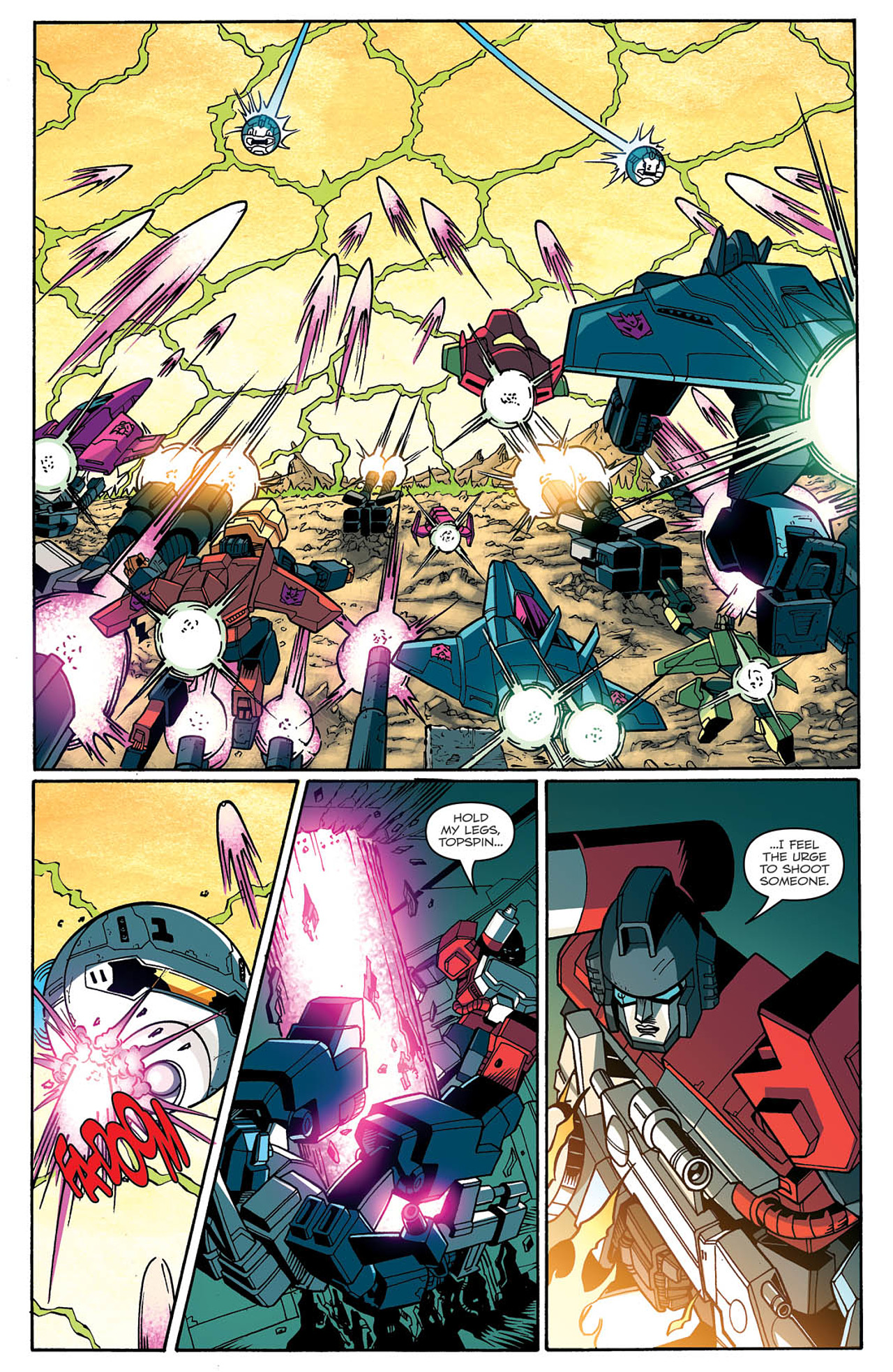 Read online Transformers: Last Stand of The Wreckers comic -  Issue #2 - 22