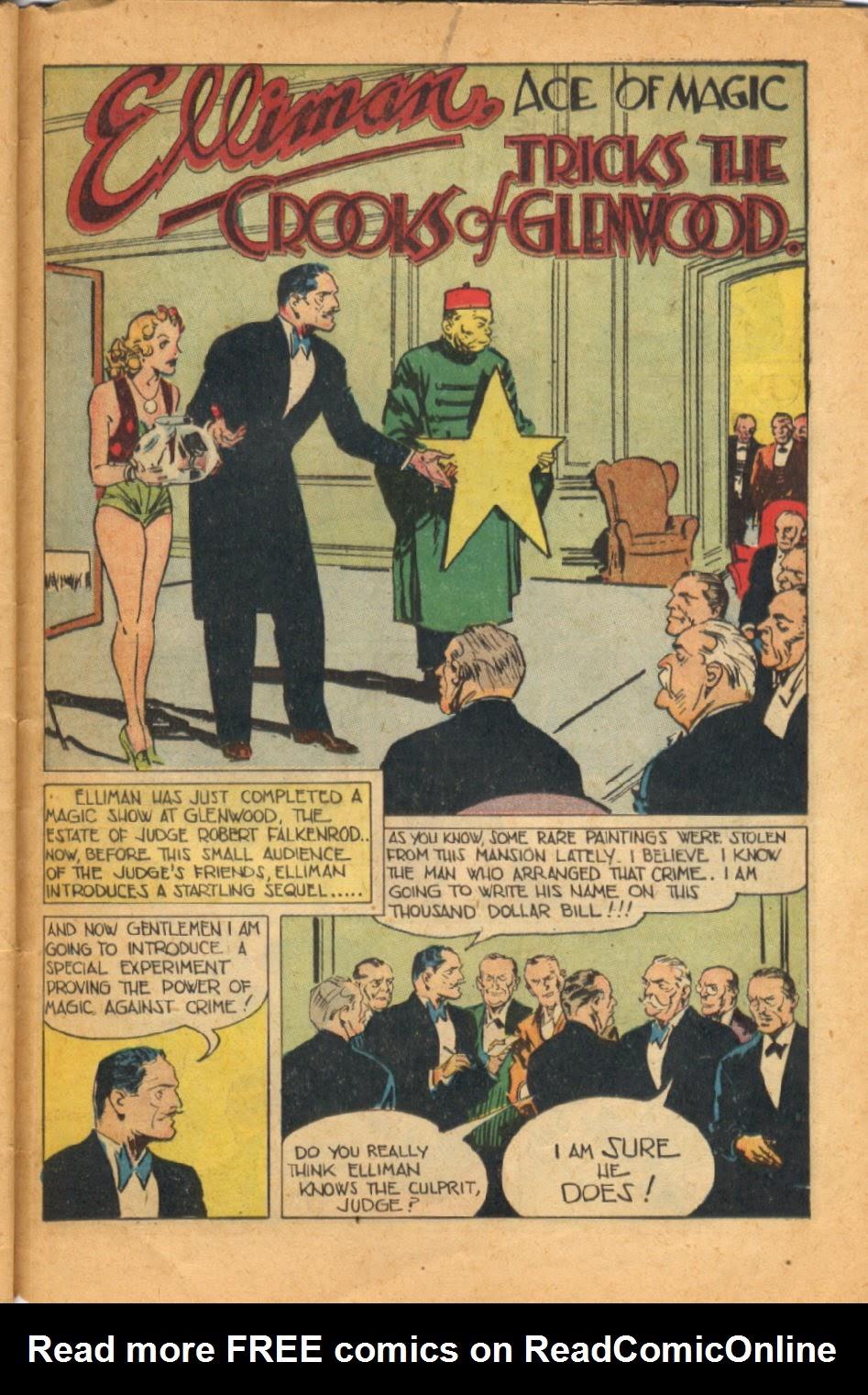 Read online Super-Magician Comics comic -  Issue #52 - 40