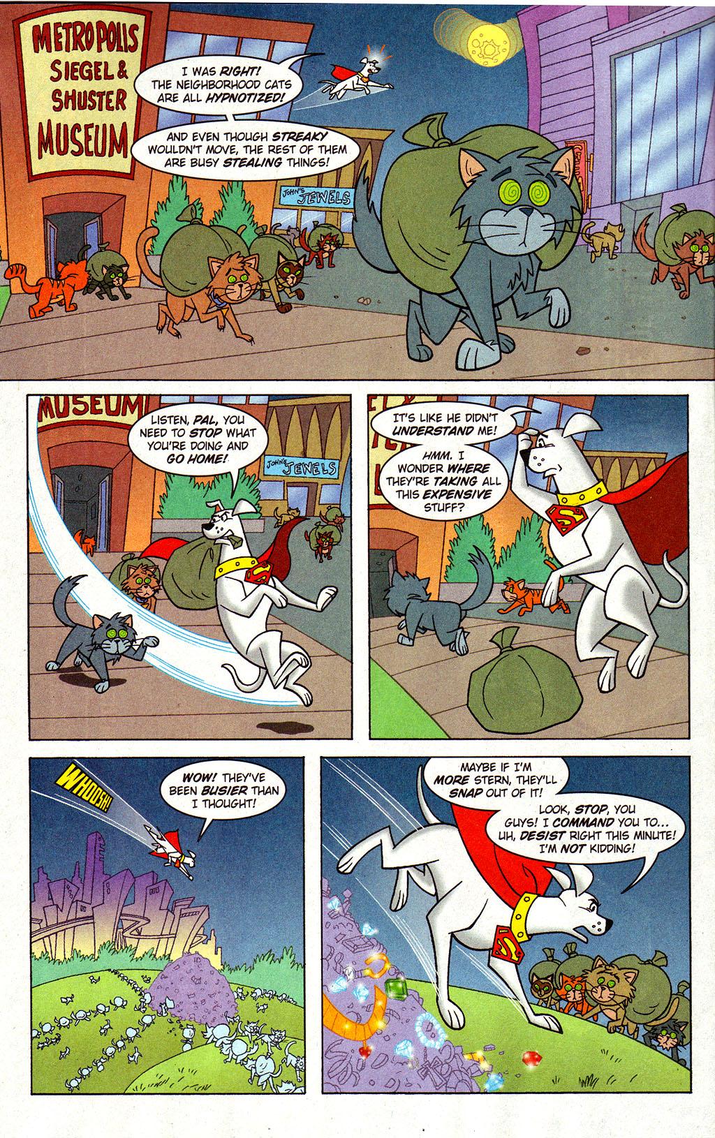 Read online Krypto the Superdog comic -  Issue #3 - 6