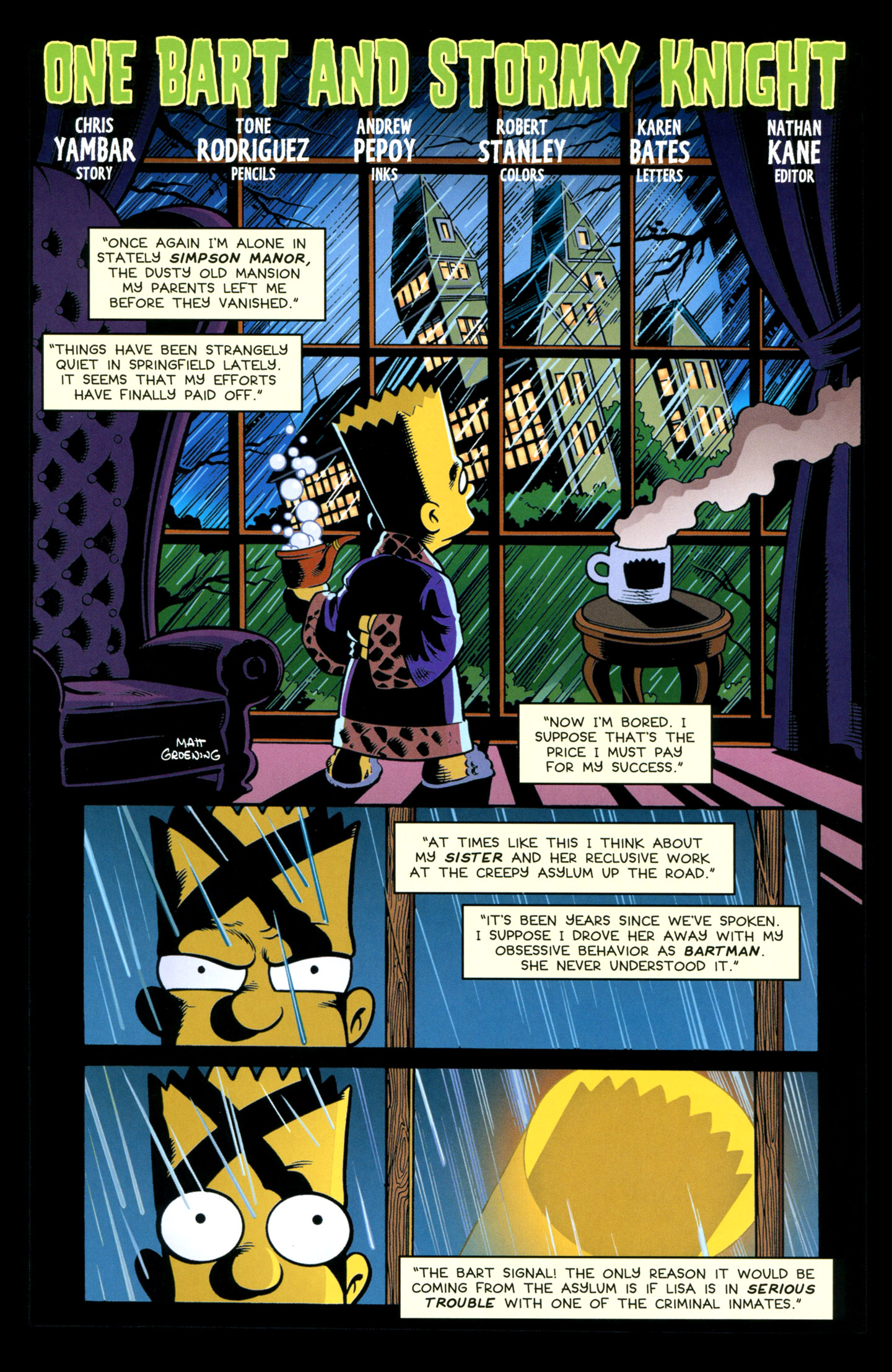 Read online Treehouse of Horror comic -  Issue #18 - 31