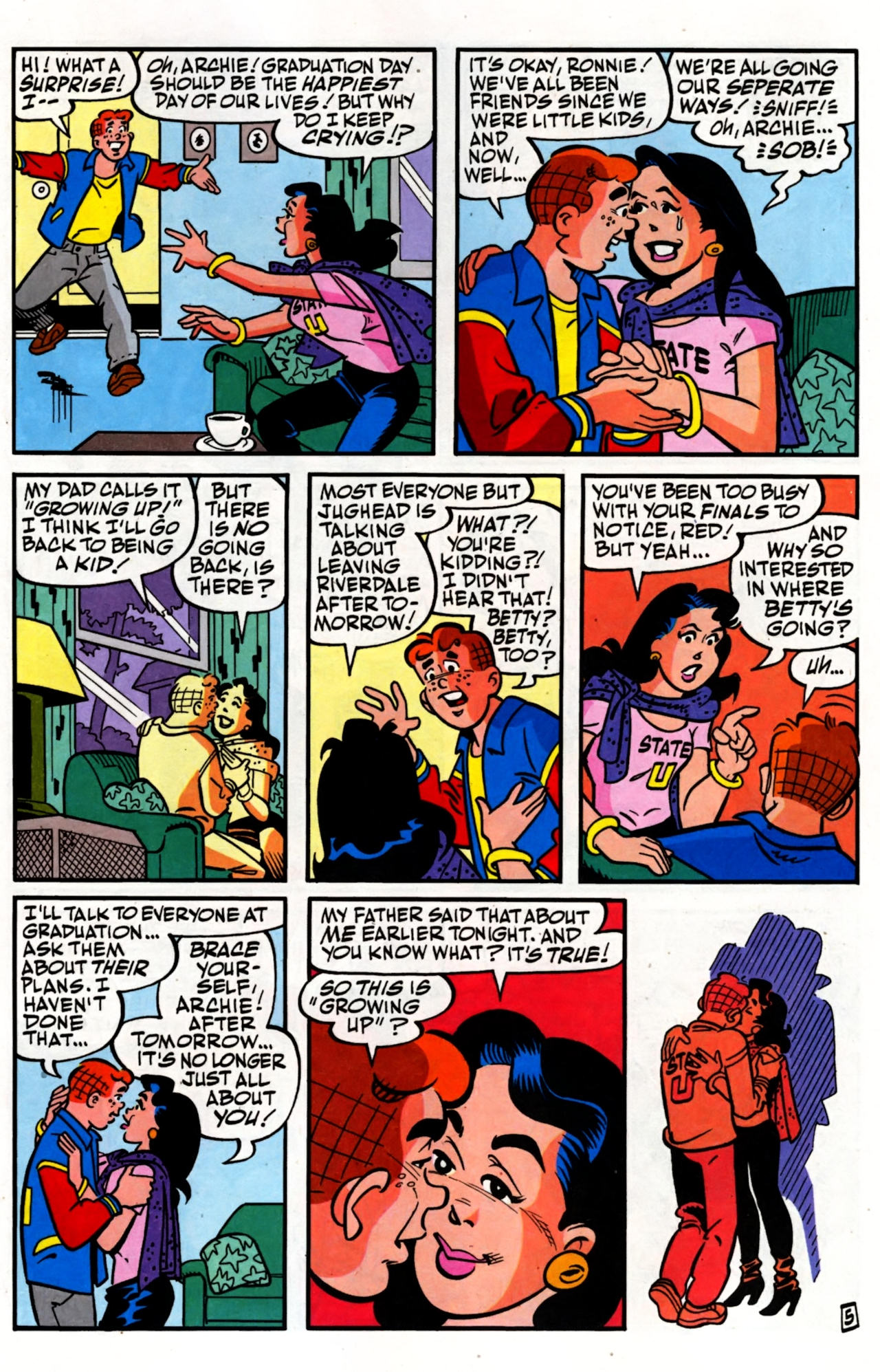 Read online Archie (1960) comic -  Issue #600 - 9