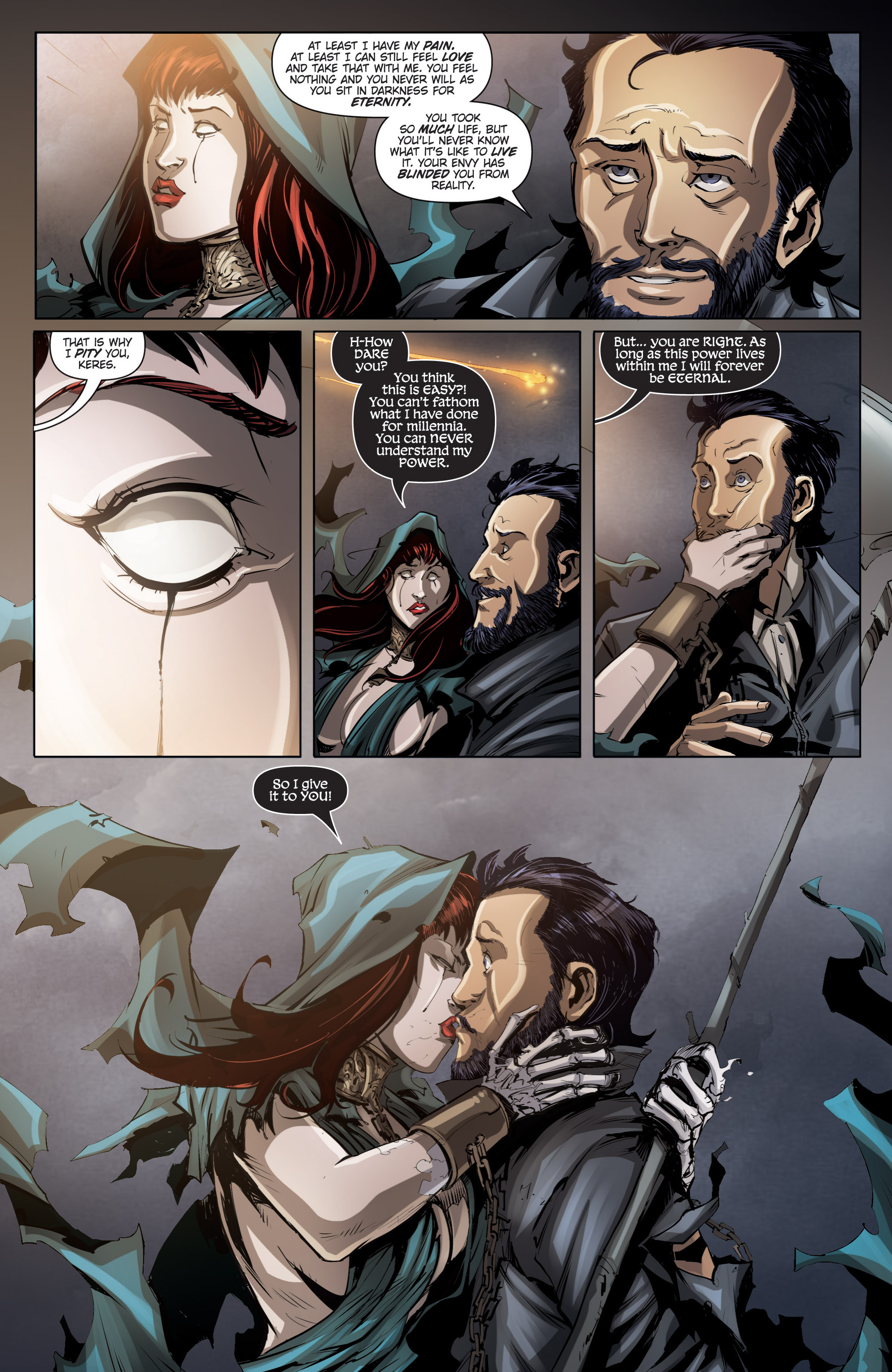 Read online Grimm Fairy Tales presents No Tomorrow comic -  Issue # TPB - 110