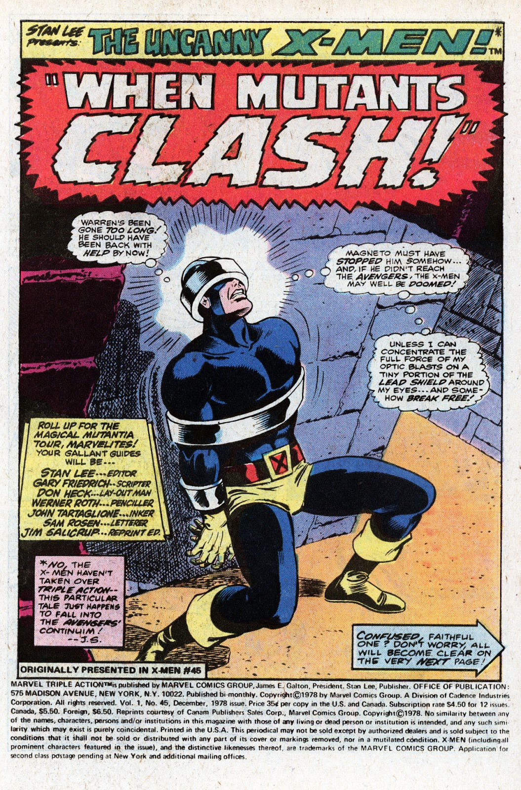 Marvel Triple Action (1972) issue 45 - Page 3
