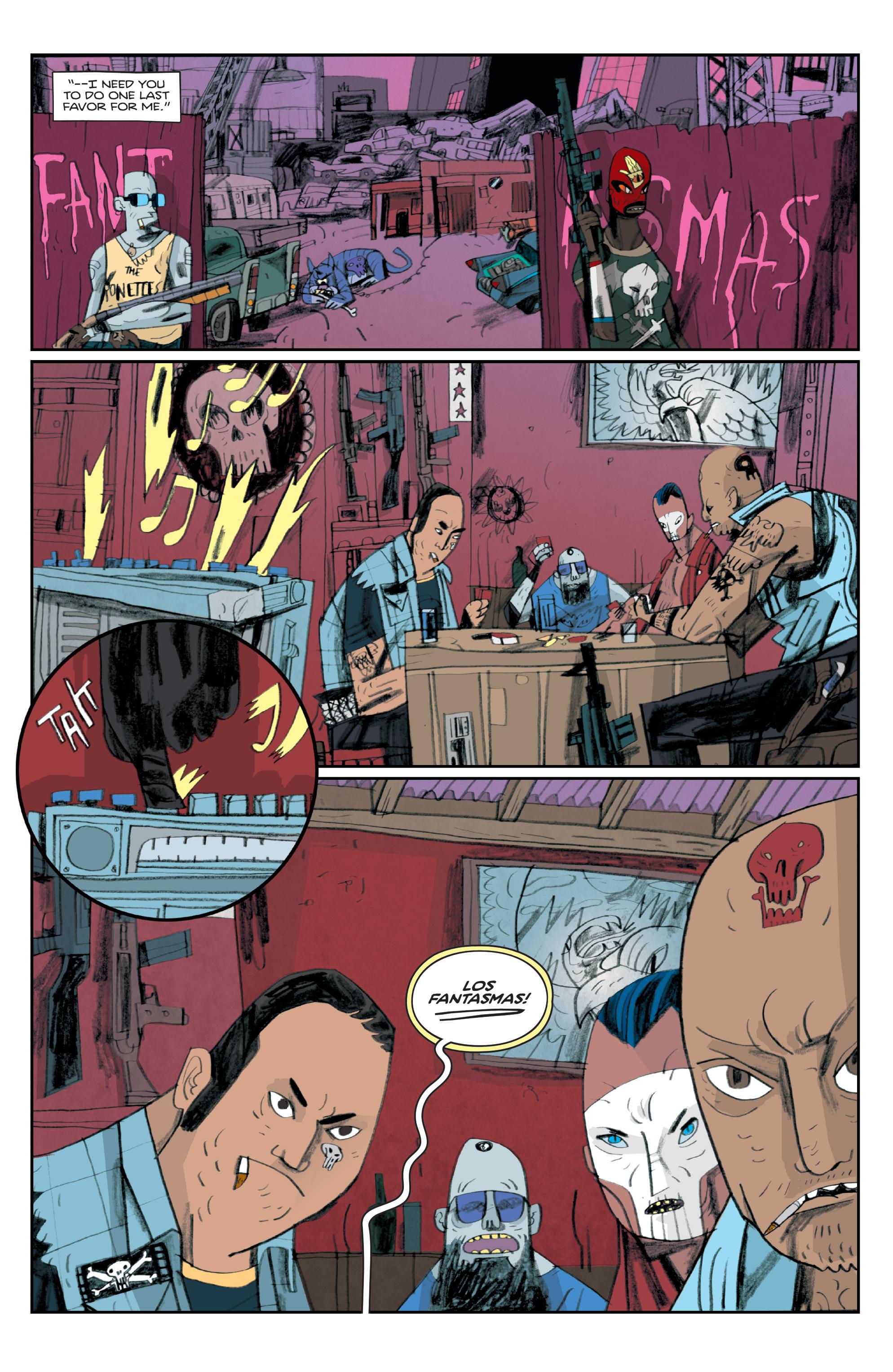 Read online Helena Crash comic -  Issue #4 - 10