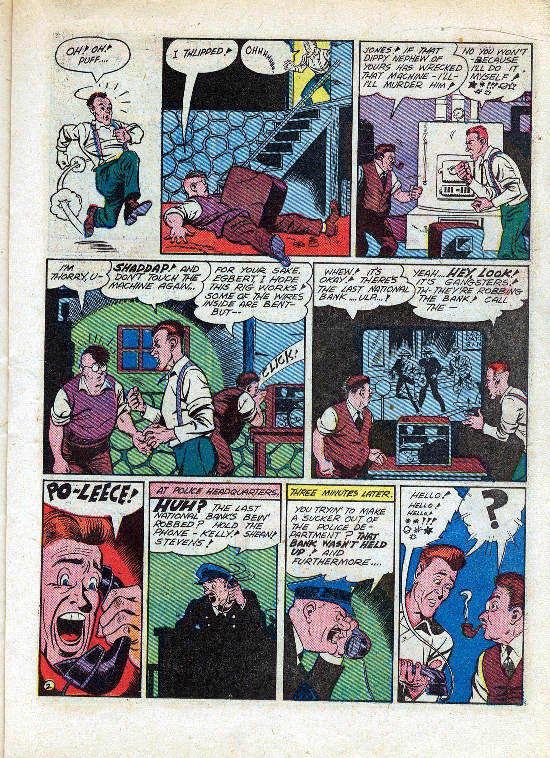 Read online Sensation (Mystery) Comics comic -  Issue #26 - 33