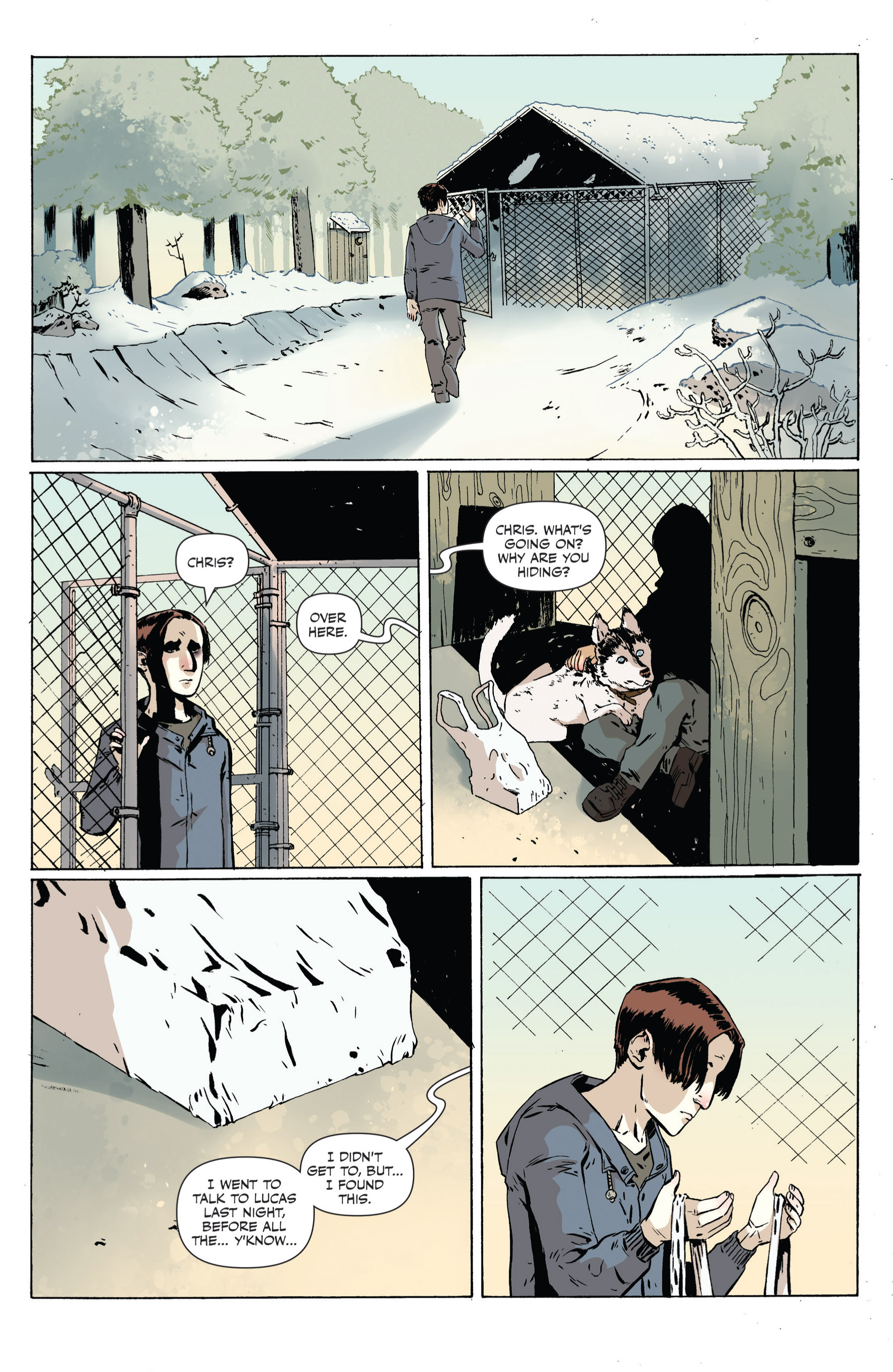 Read online Sheltered comic -  Issue #4 - 3