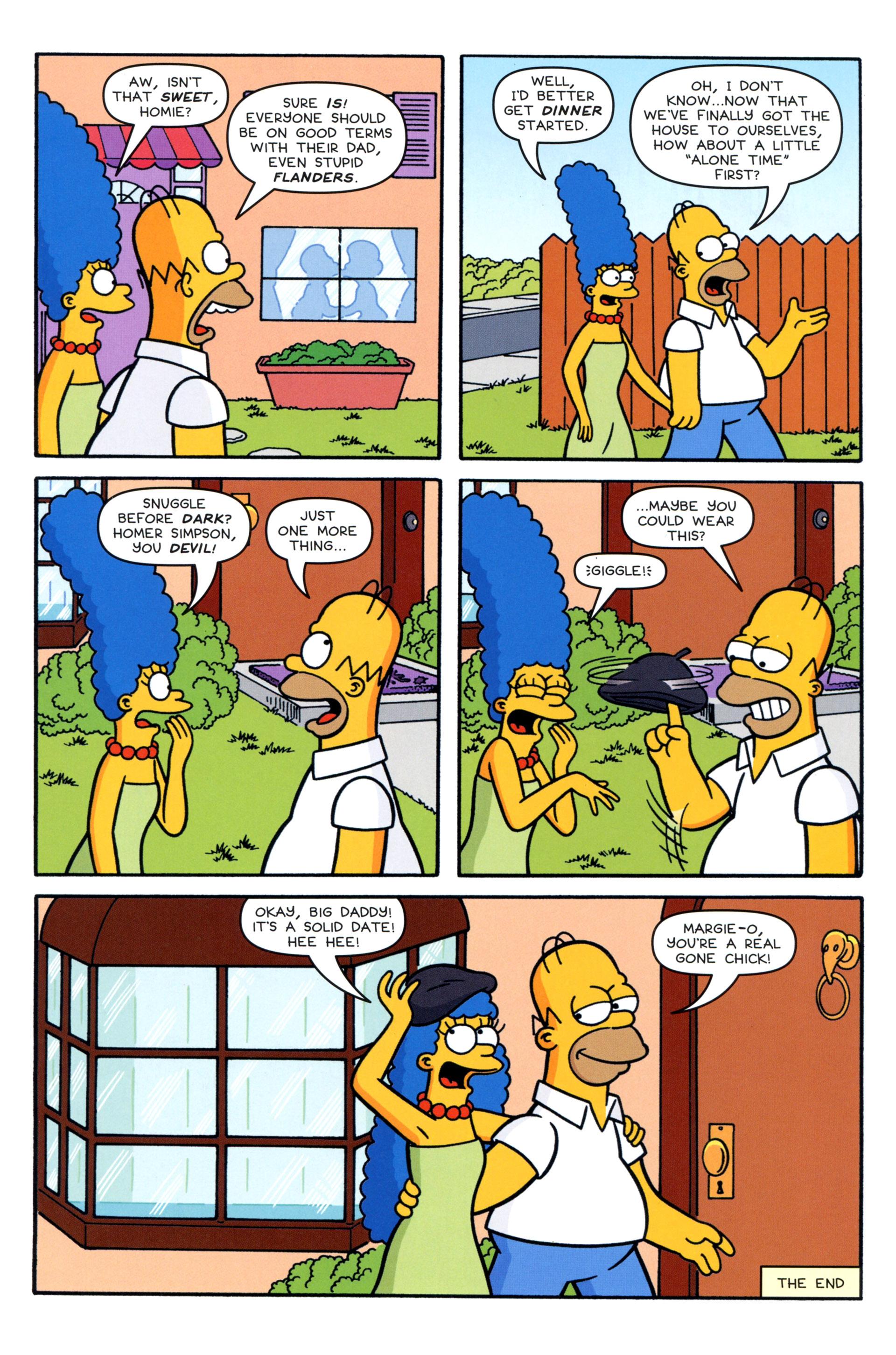Read online Simpsons Comics comic -  Issue #204 - 24