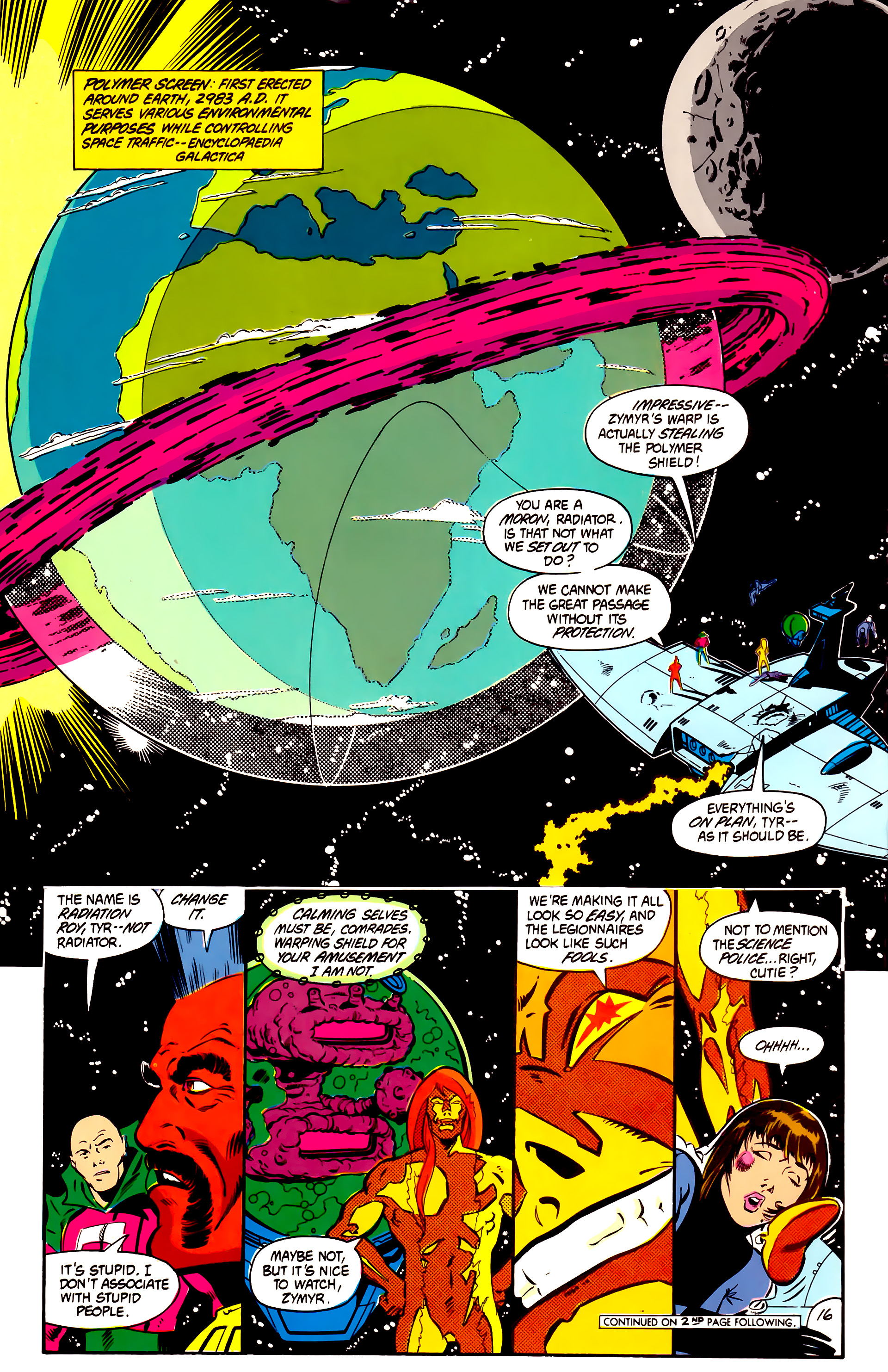 Legion of Super-Heroes (1984) 2 Page 17